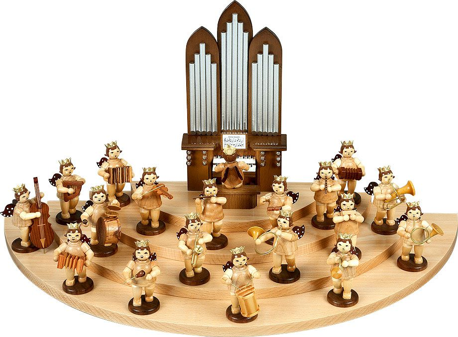 Ellmann-Engel Musikanten natur