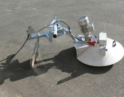 Kornknecht mobile Mischnecke 2,2 kW mit elektr. Leiteinrichtung