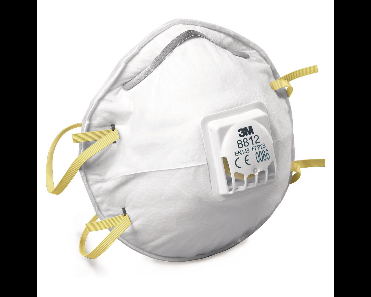 Atemschutzmasken FFP 1 mit Ausatemventil 10 St / Packung