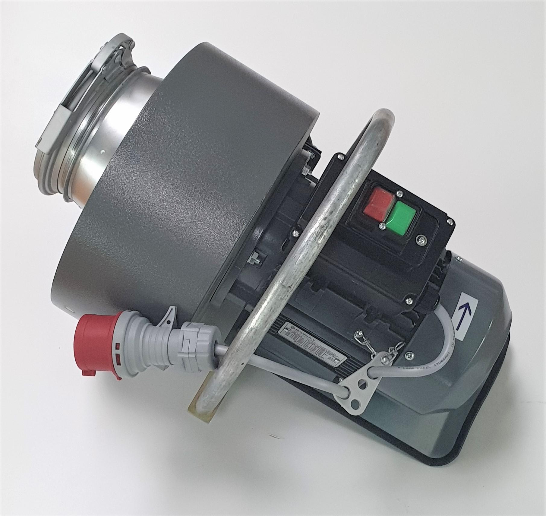 Belüftungsrakete Teyfun 1,5 kW - Gebläse einzeln mit elektr. Verkabelung