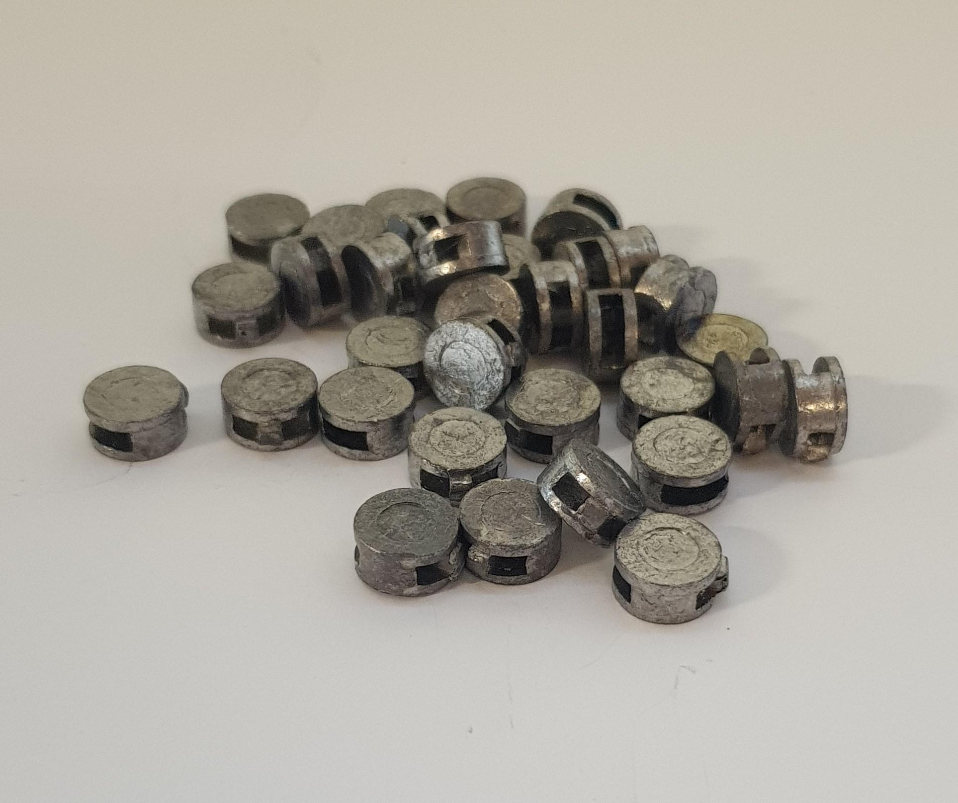 Bleiblomben 8 mm ca. 800 Stück
