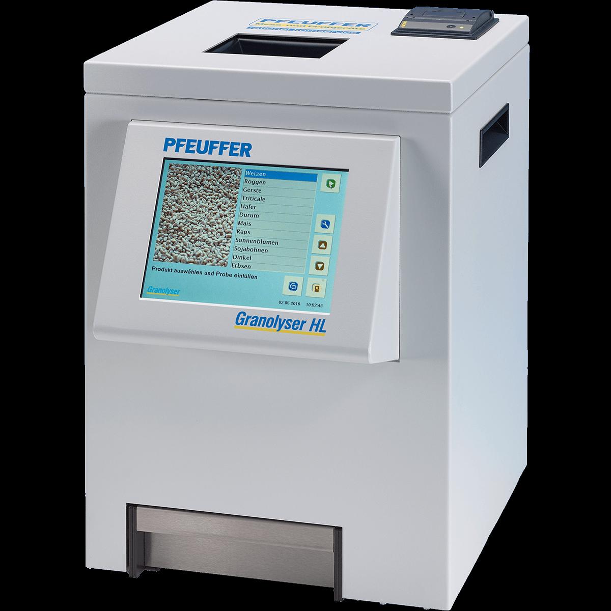 Granolyser HL-NIR-Analysegerät mit Schüttdichtemodul