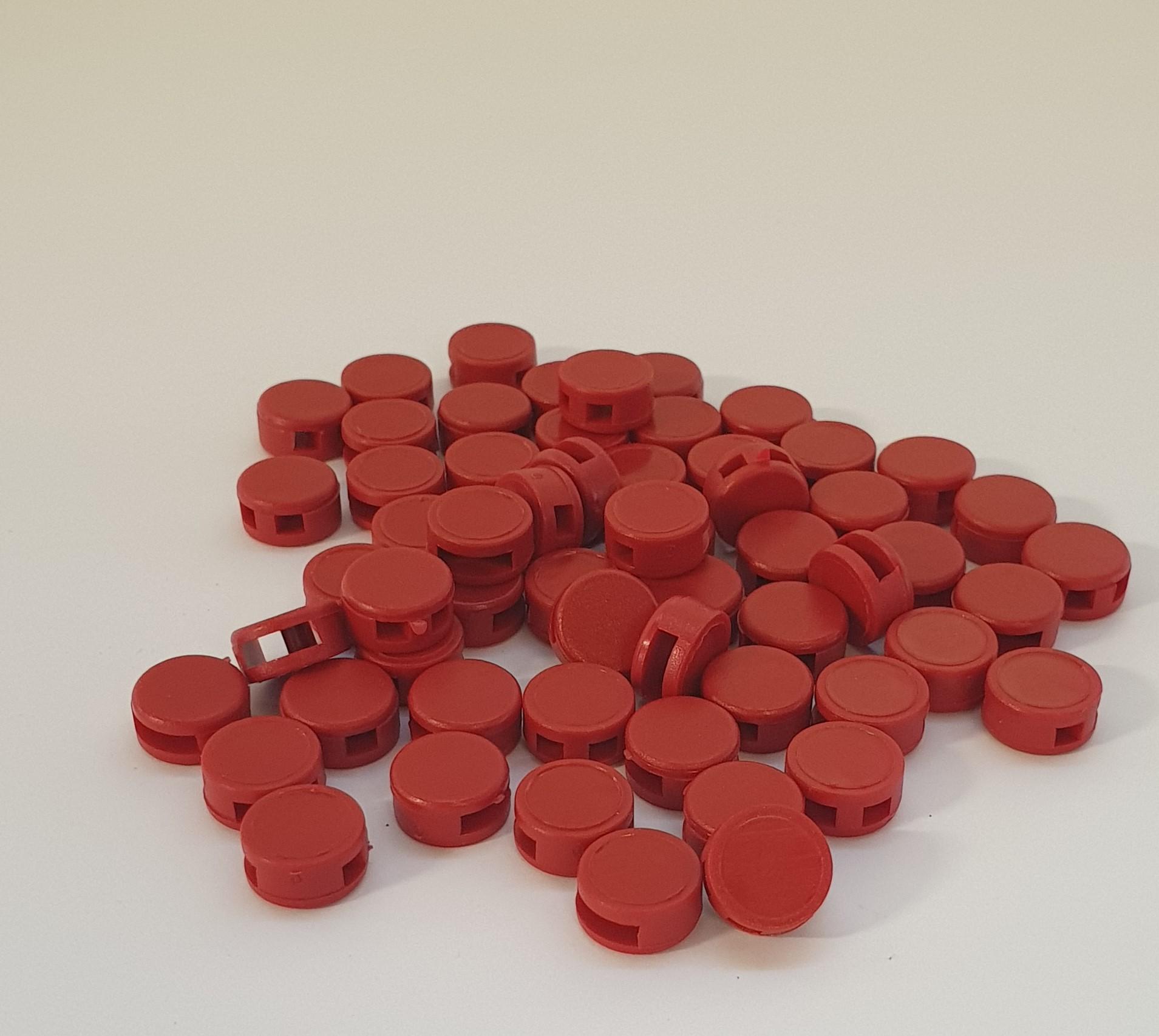 Kunststoffplombe 10 mm 1000 Sück