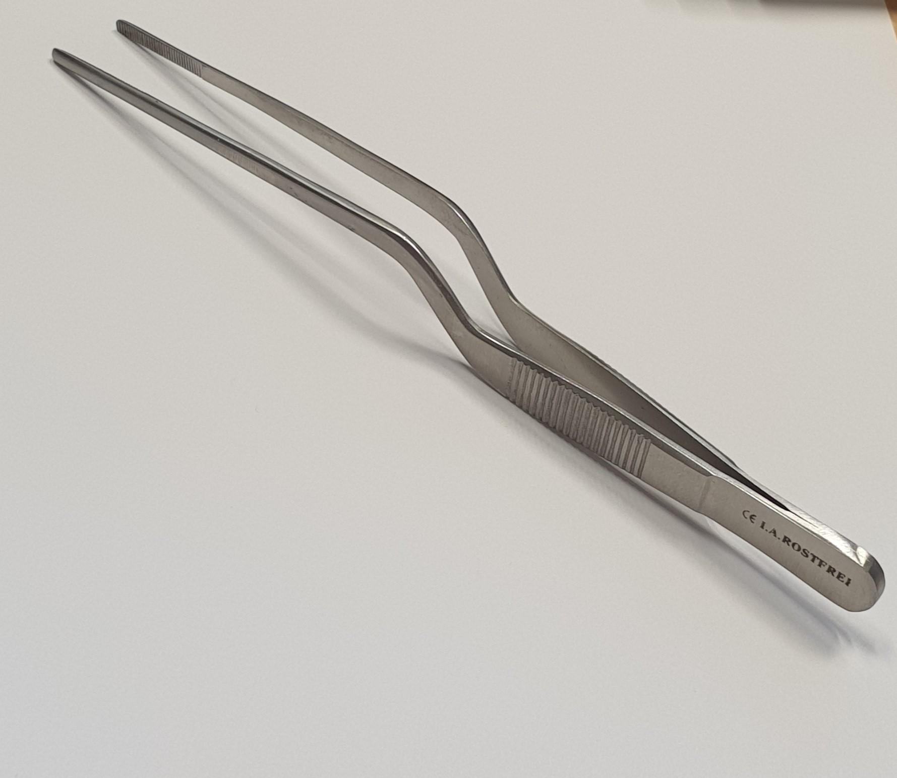 Pinzette kniegebogen stumpf