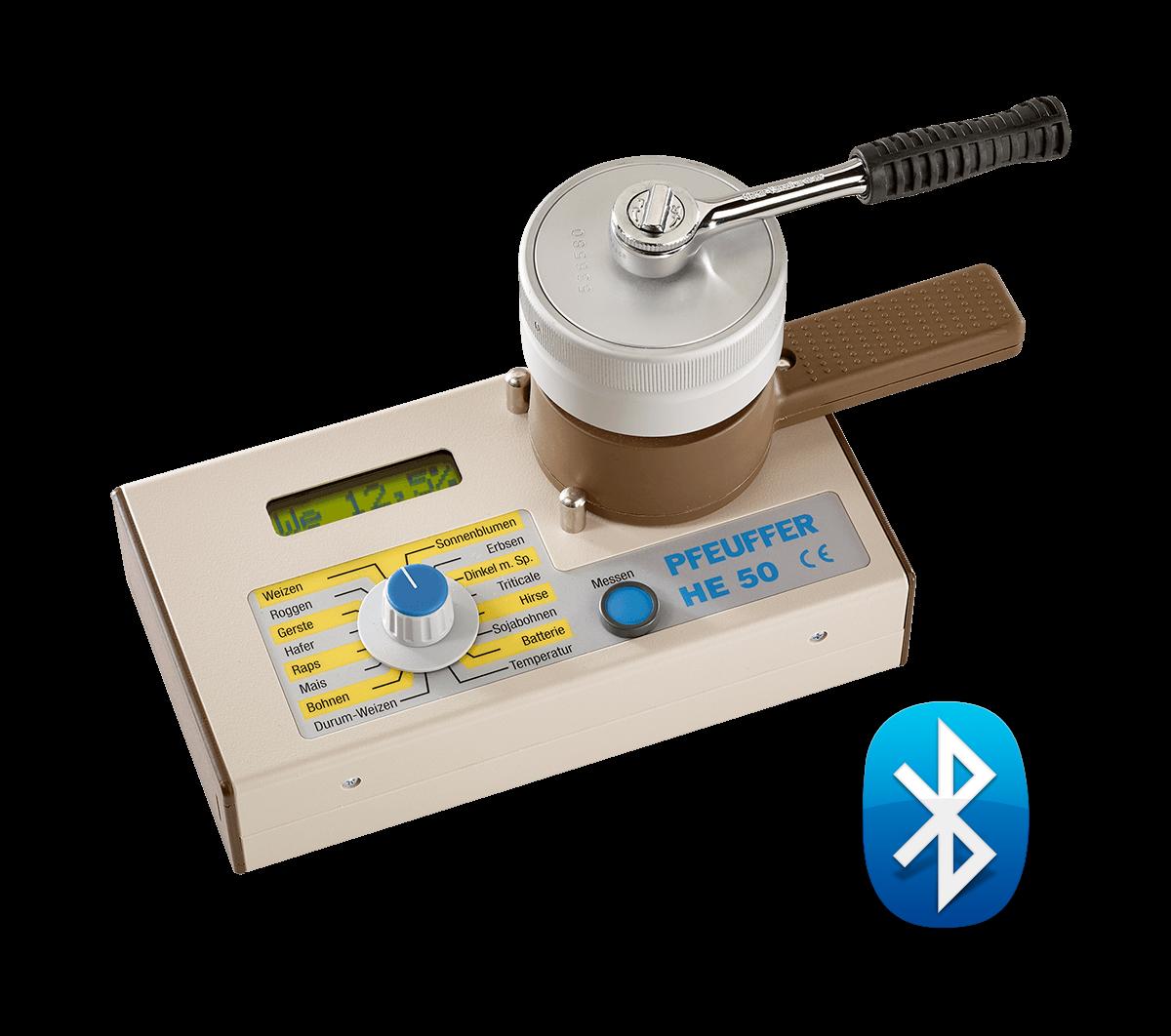 HE 50 Getreidefeuchtemesser - inklusive Bluetooth- Modul
