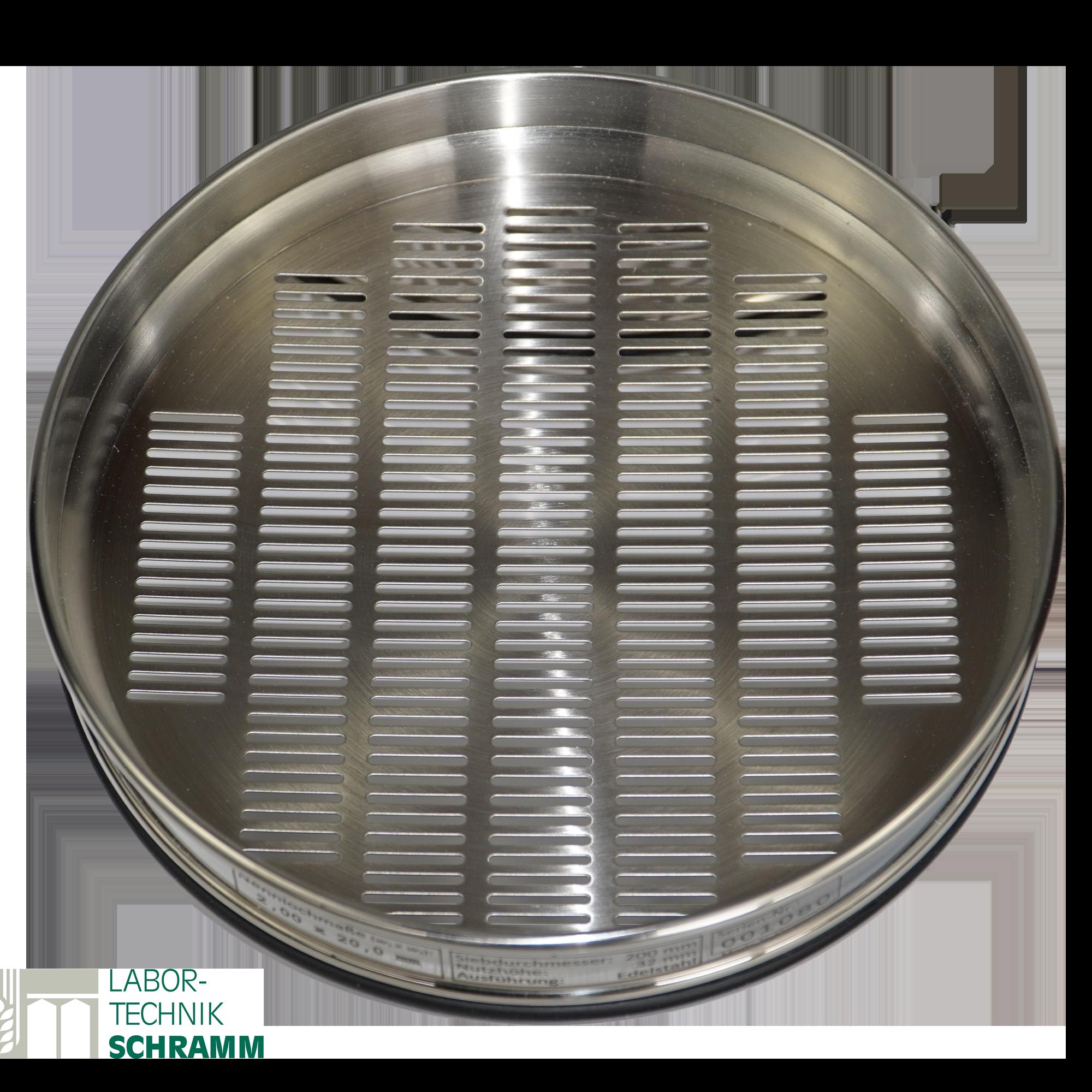 Sieb /200 SL 1,8 mm ISO 5223        Roggen / Triticale