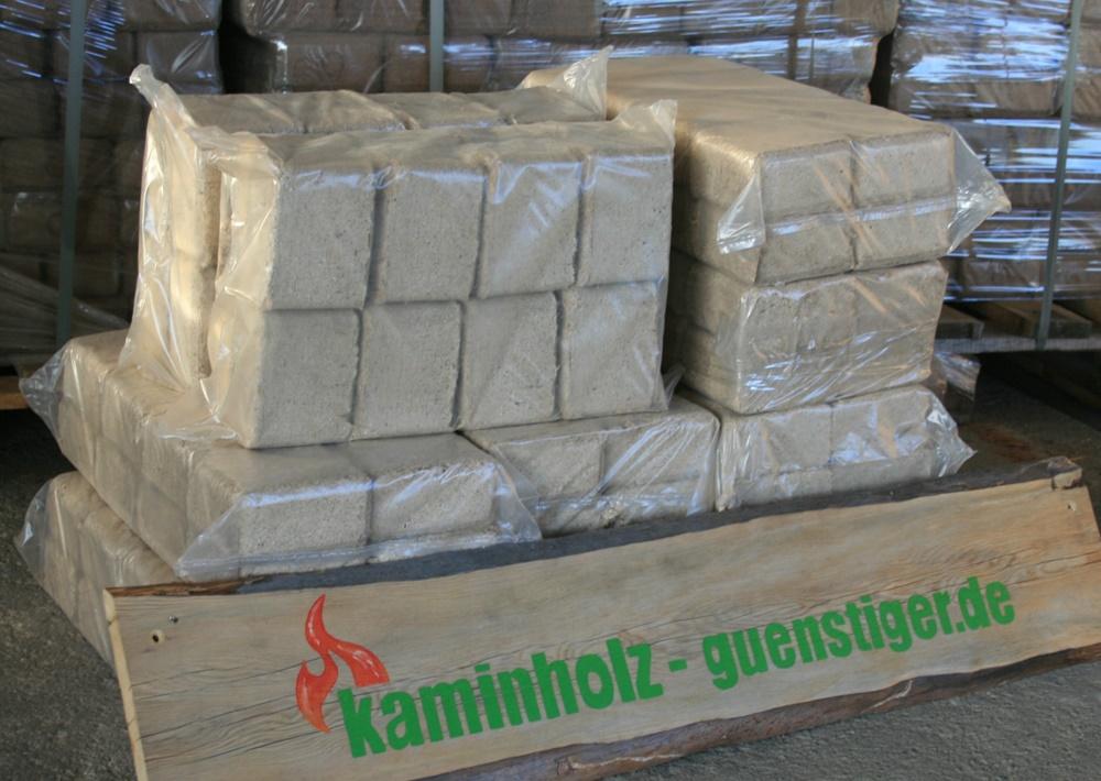 Hartholzbriketts - 100 kg
