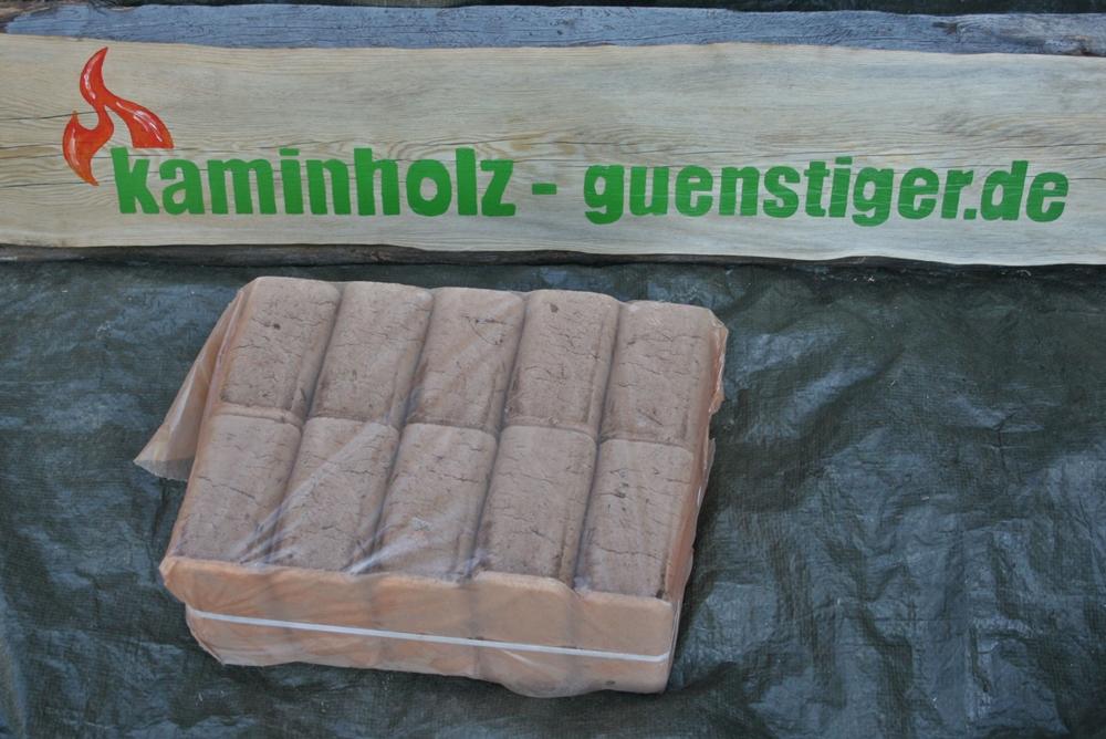 Hartholzbriketts - 10 kg