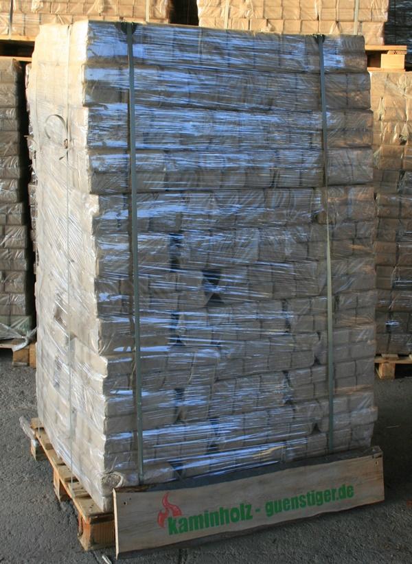 Hartholzbriketts - Palette 960 kg