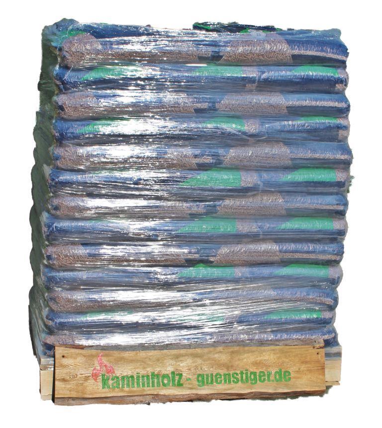 Holzpellets DIN plus - Palette 975 kg