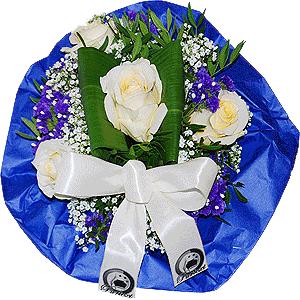 Blumenstrauss Ihr eigener Firmenstrauß mit Logo