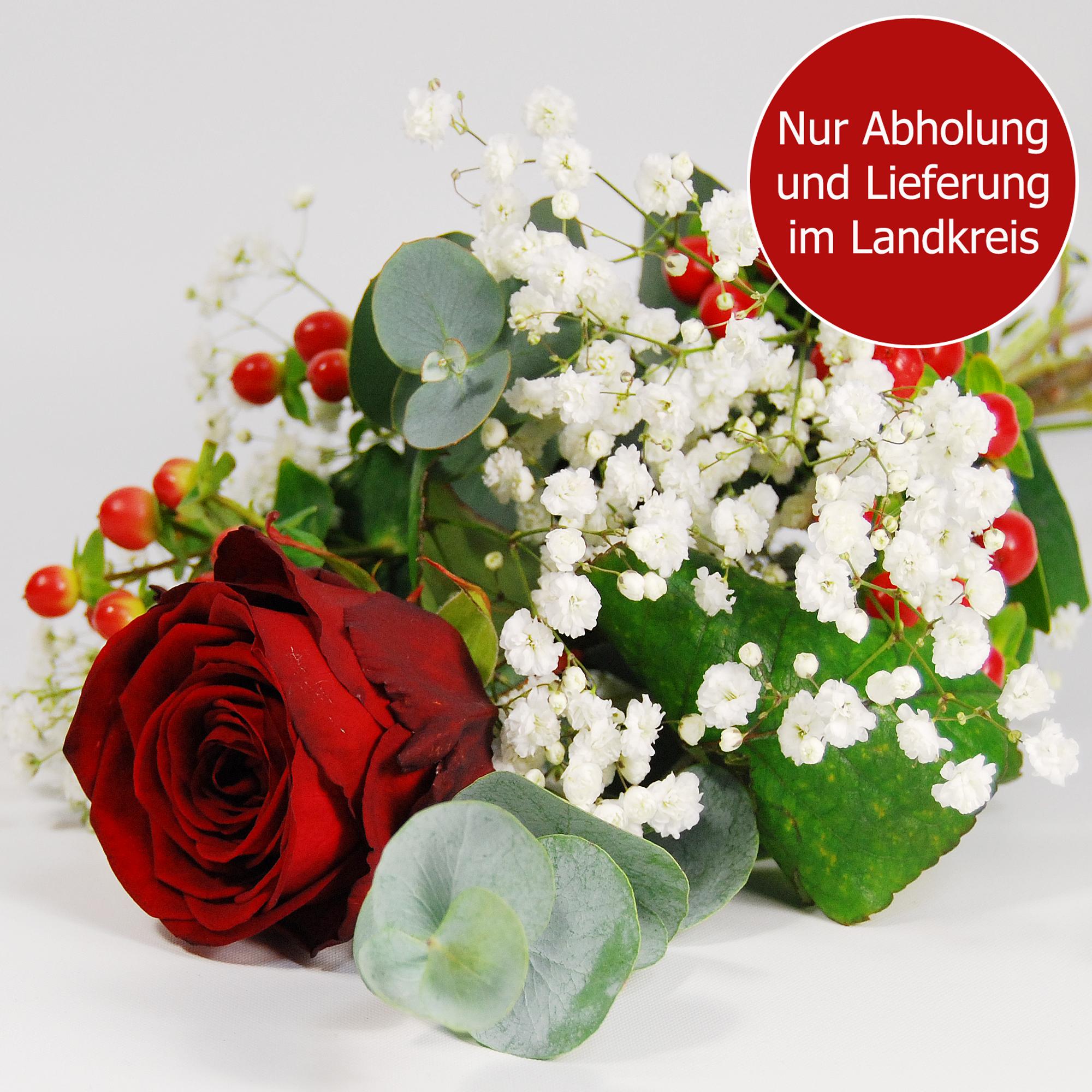 Blumenstrauss Rose zum Valentinstag