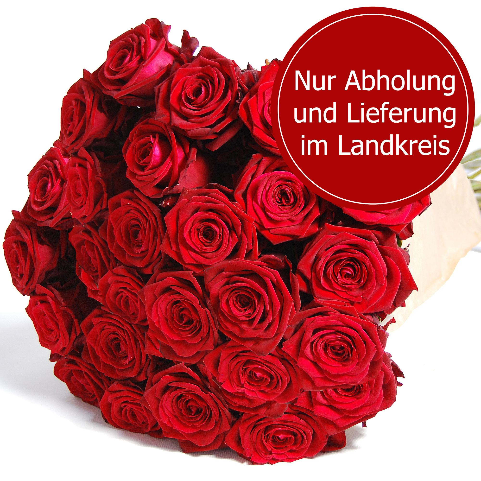 Blumenstrauss Rote Rosen EXTRA