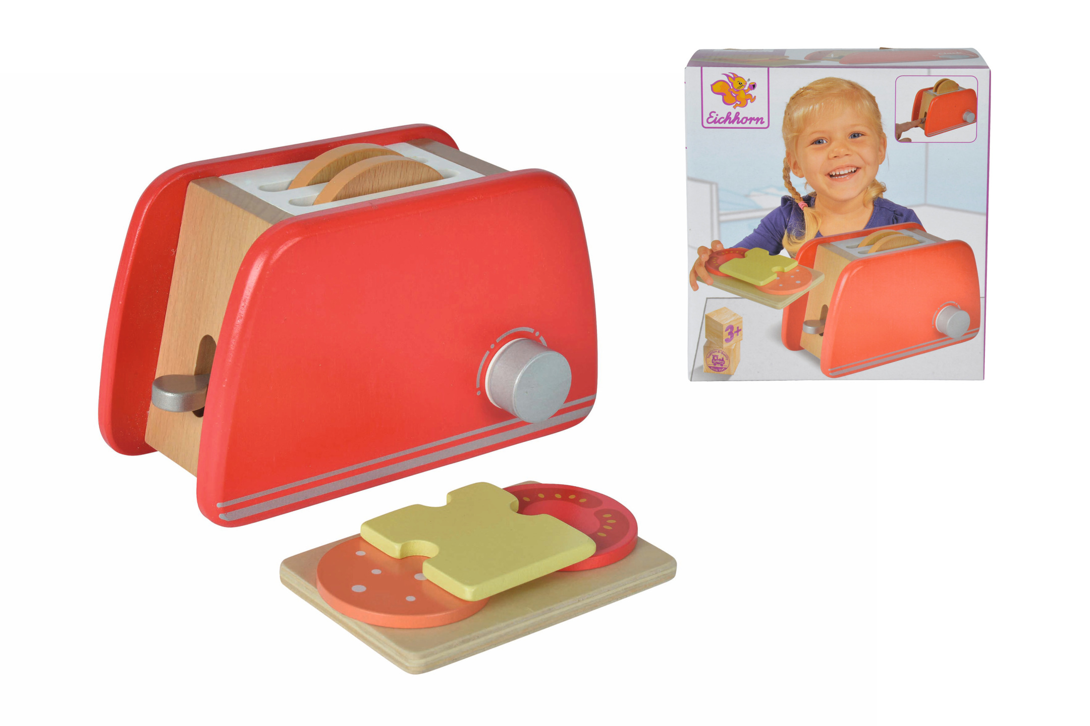 Eichhorn - Toaster Spielset 7tlg.