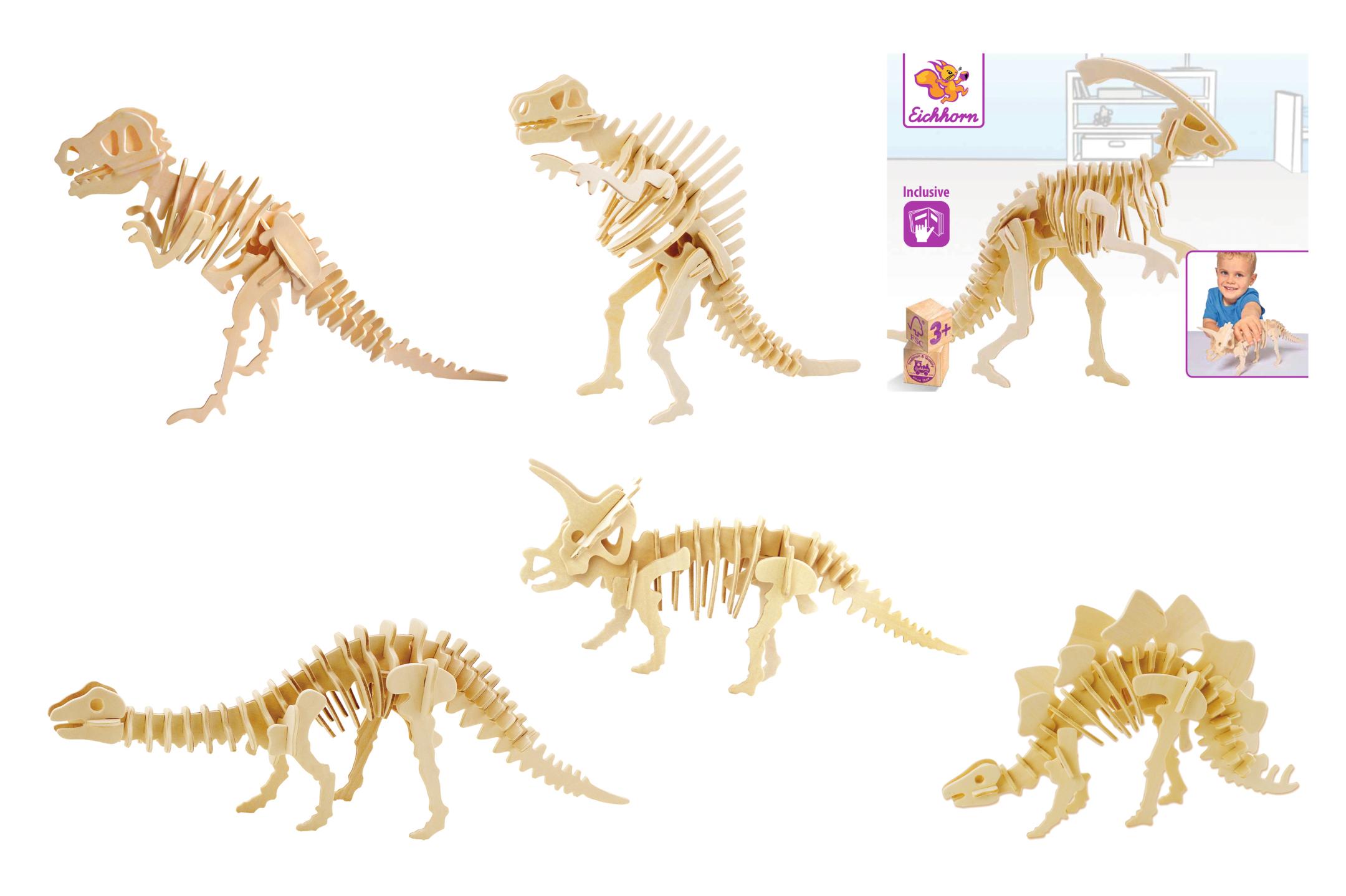 Eichhorn 3D Puzzle Dinos 6fs