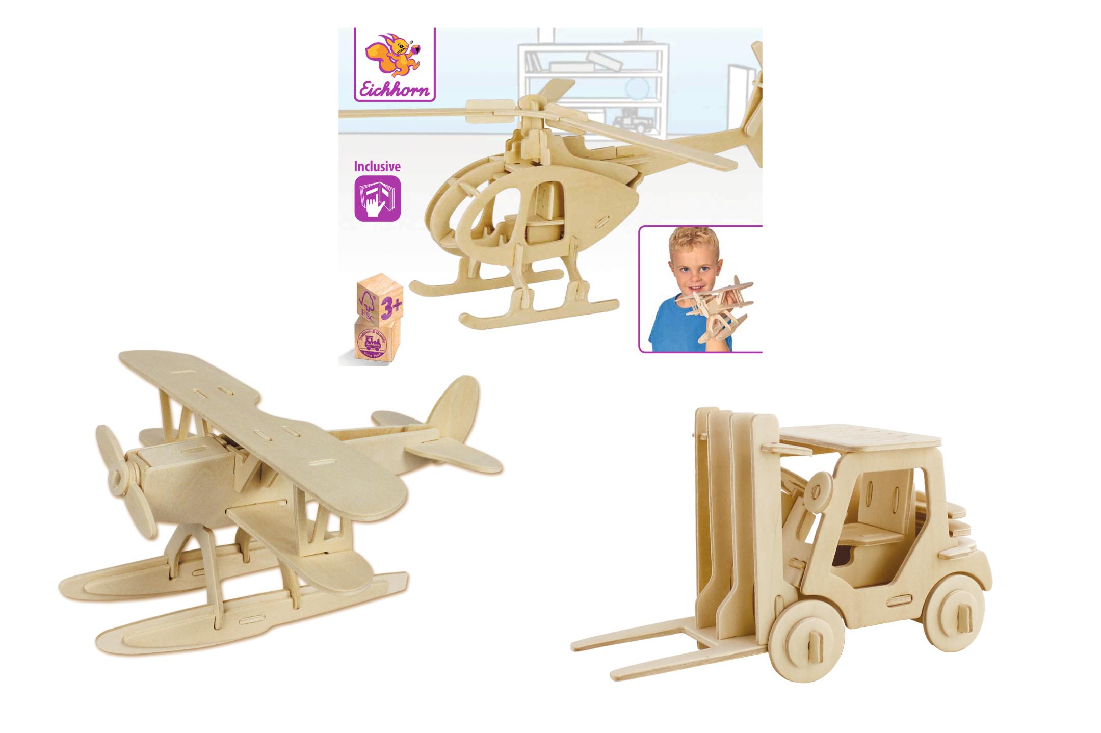 Eichhorn 3D Puzzle Fahrzeug 3fs