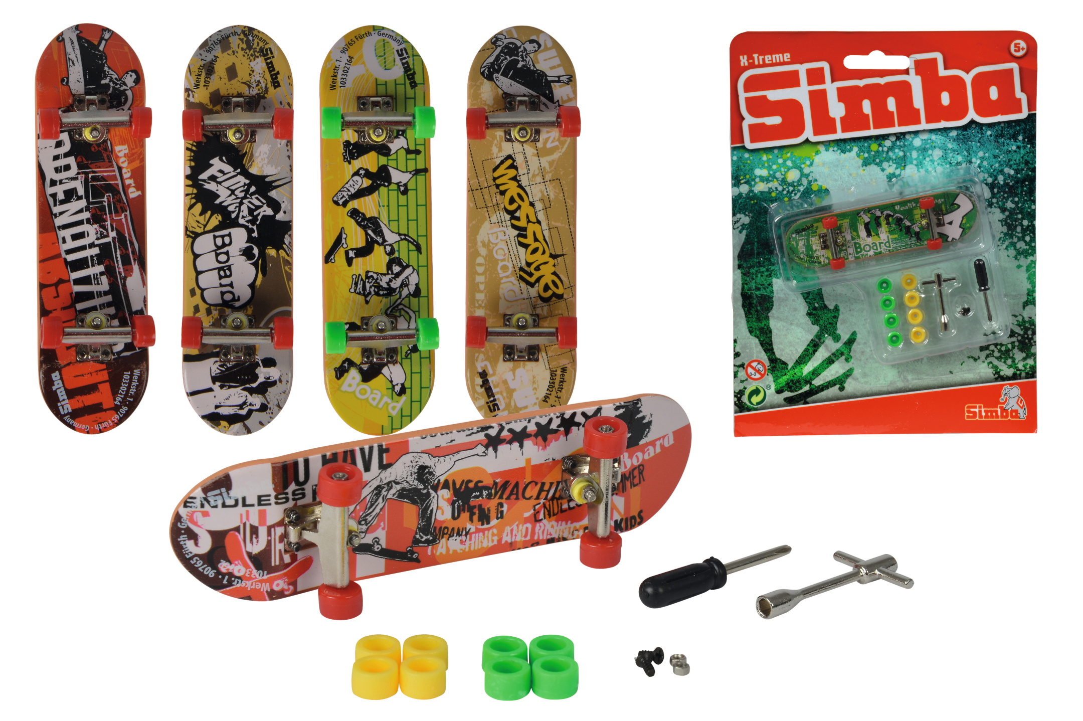Finger Skateboard 6fs