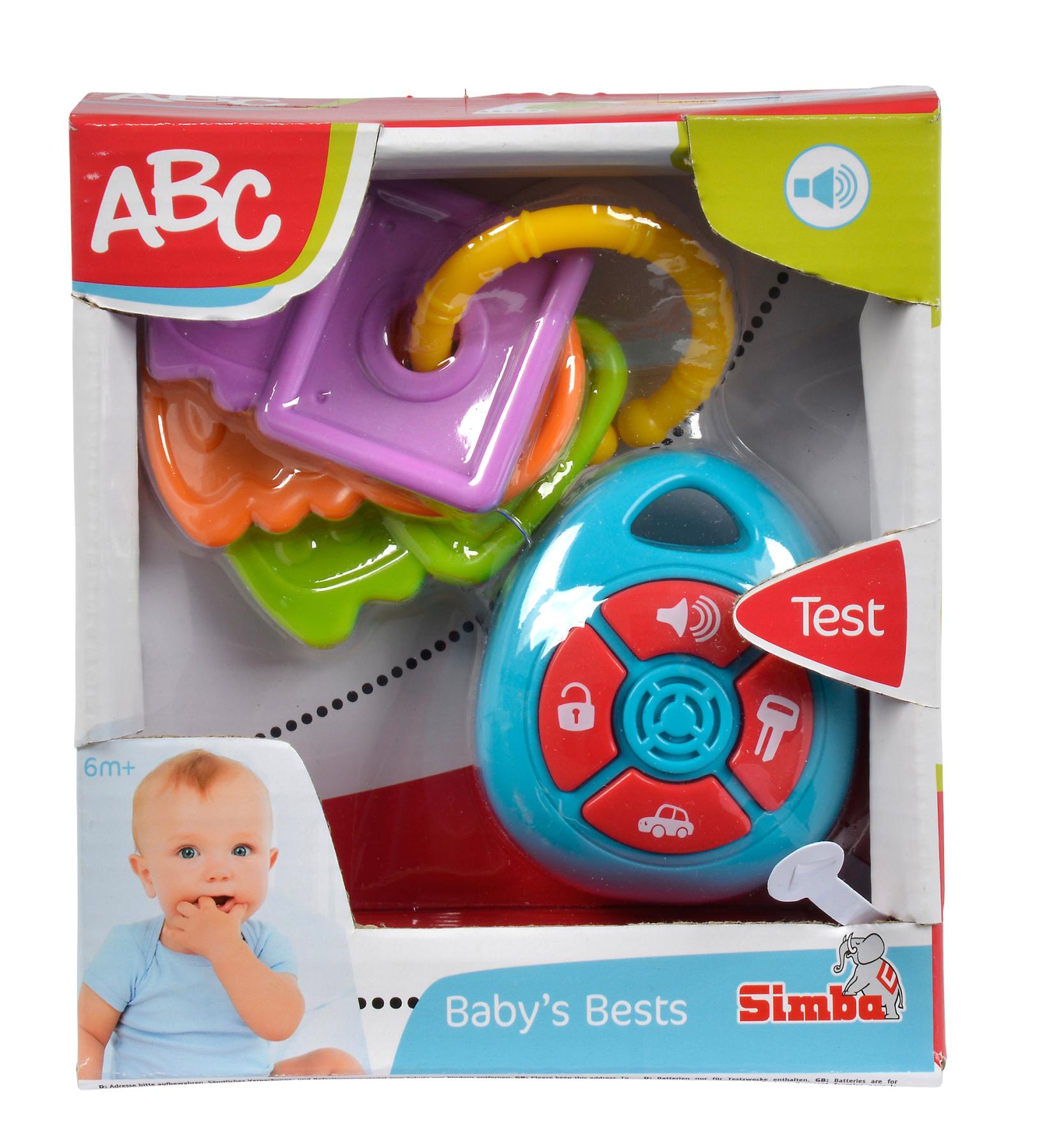 ABC Erste Autoschlüssel