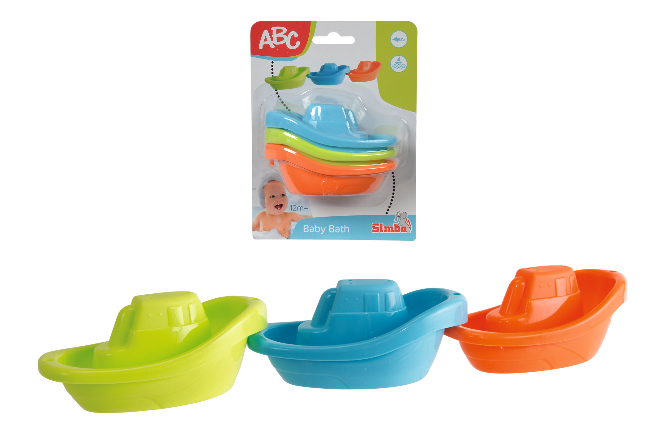 ABC Bunte Badeboote