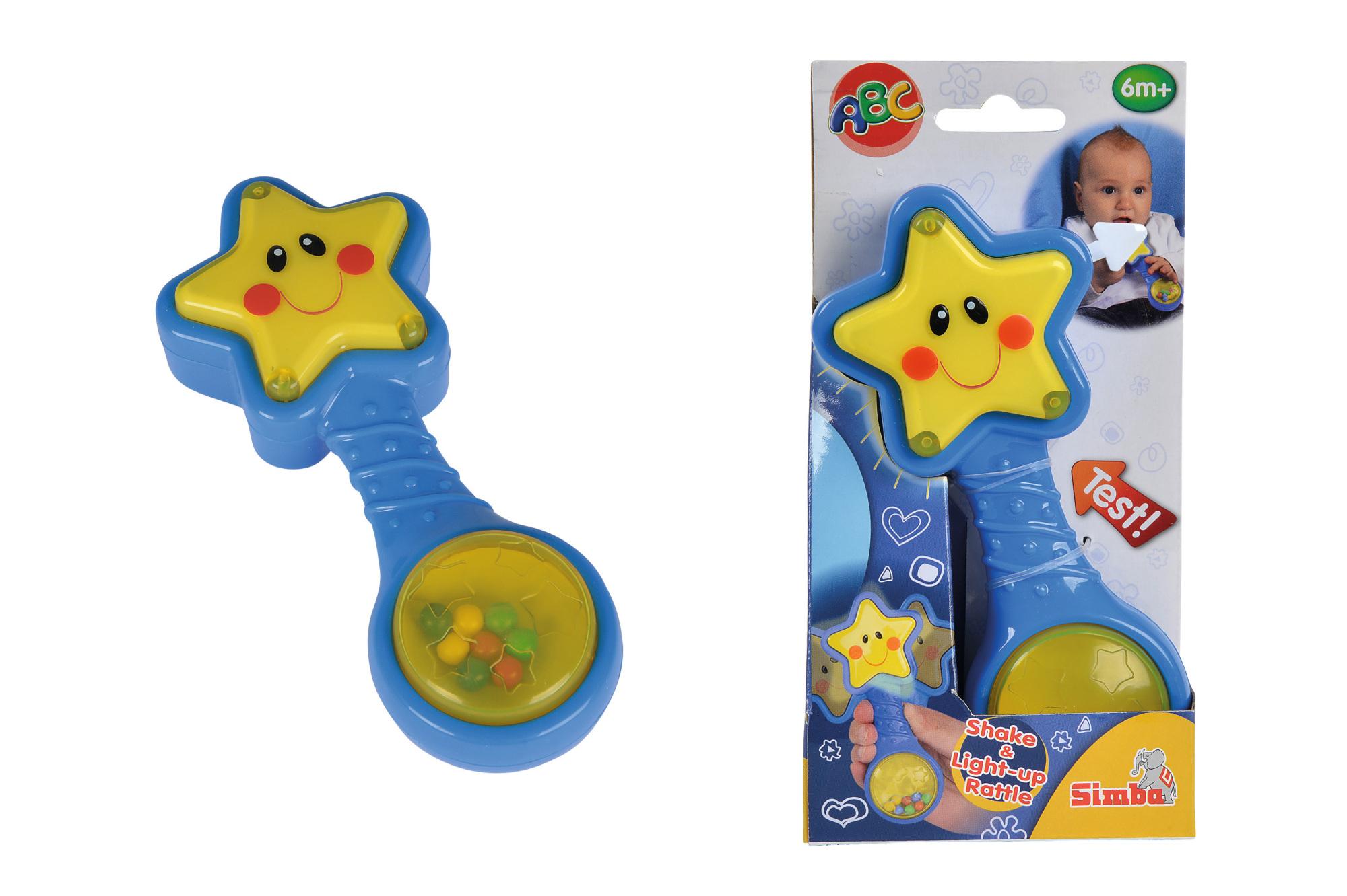 ABC Sternenrassel mit Licht