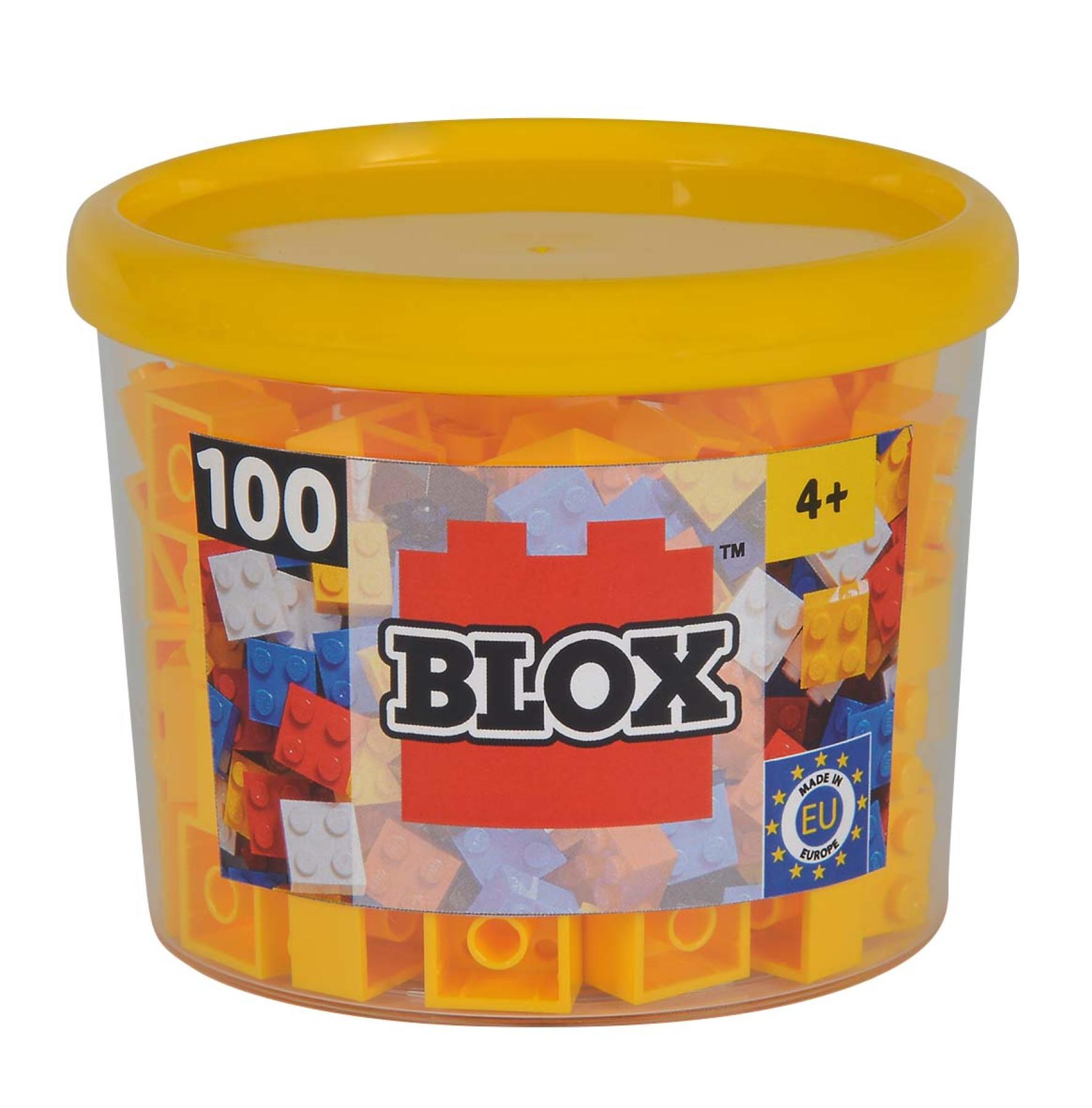 Blox 100 gelbe 4er Steine