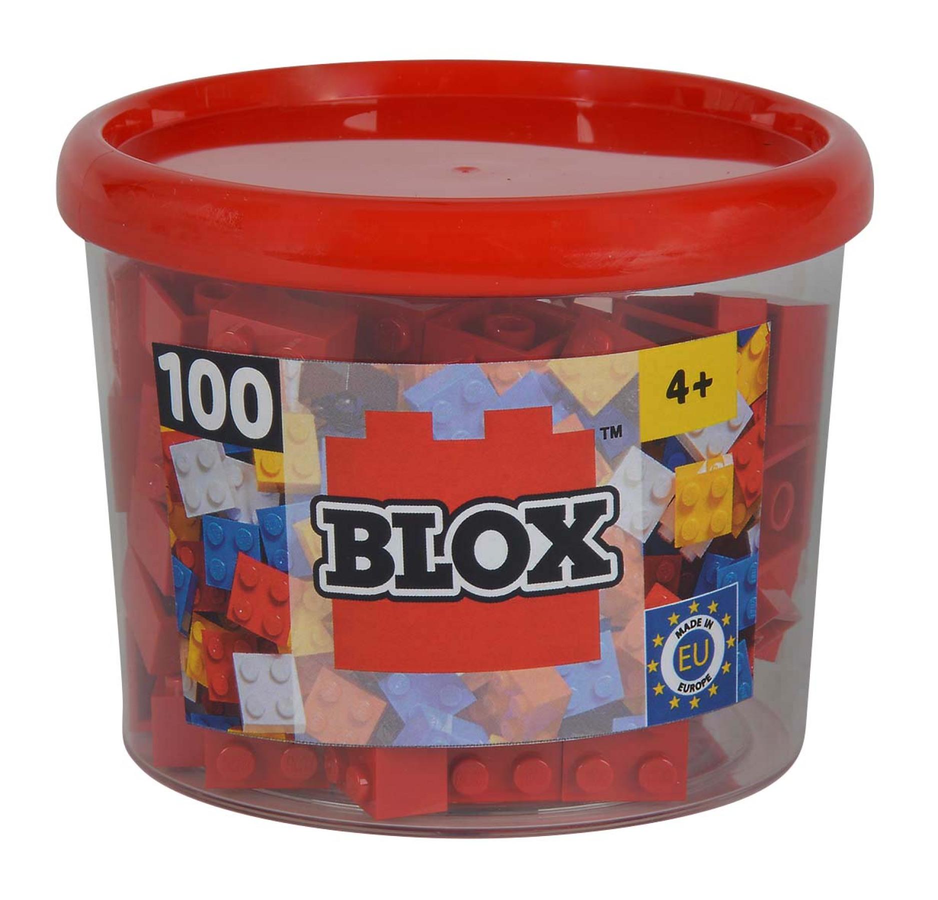 Blox 100 rot 4er Steine