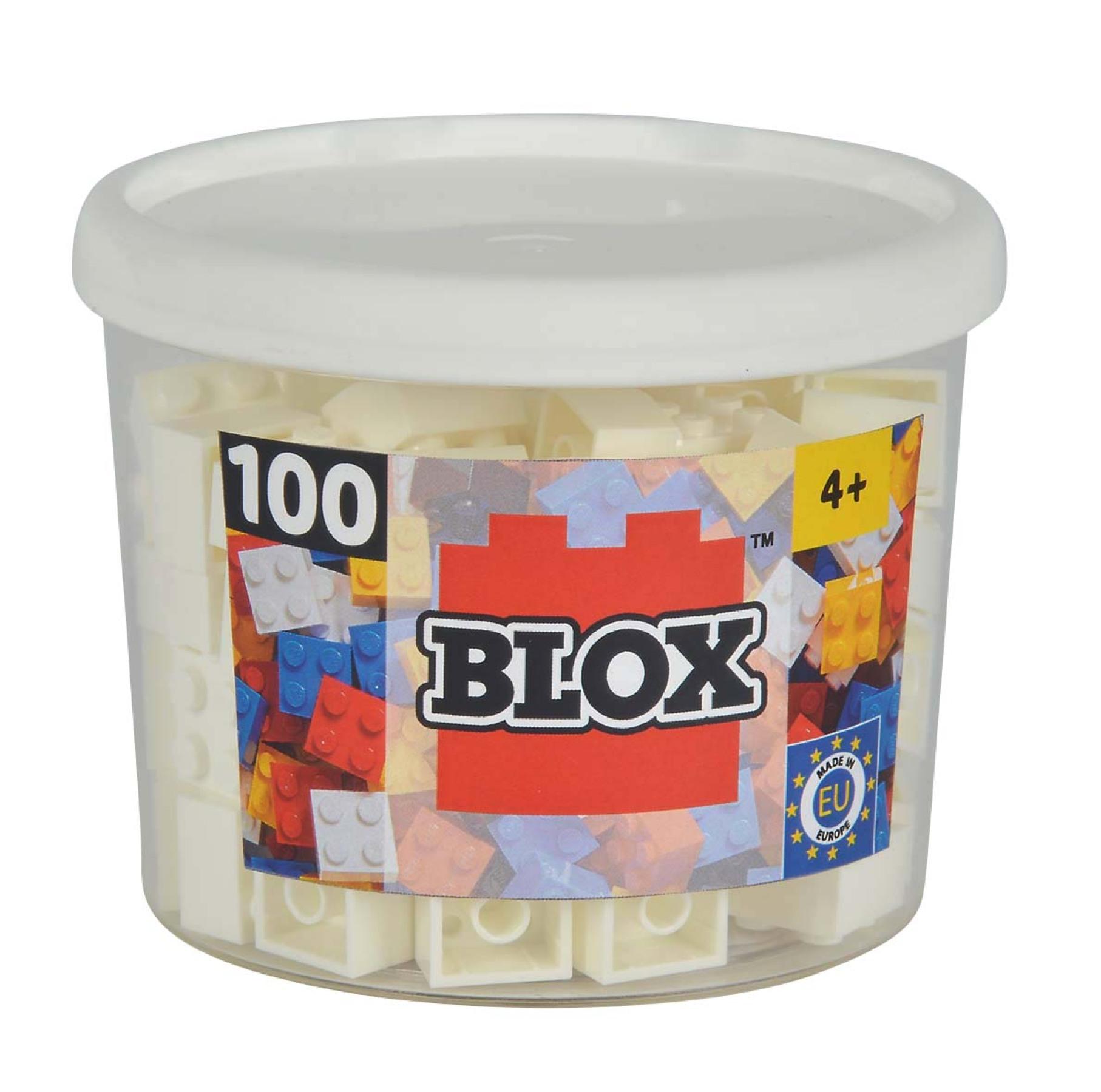 Blox 100 weiße 4er Steine