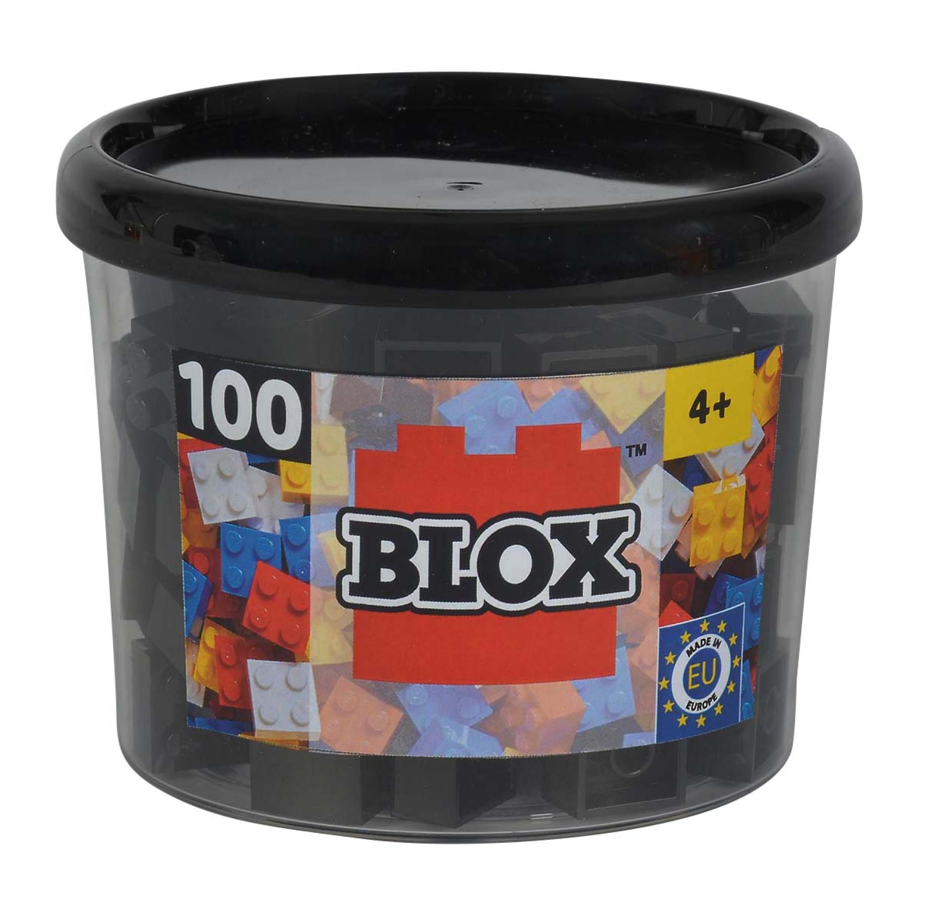 Blox 100 schwarze 4er Steine