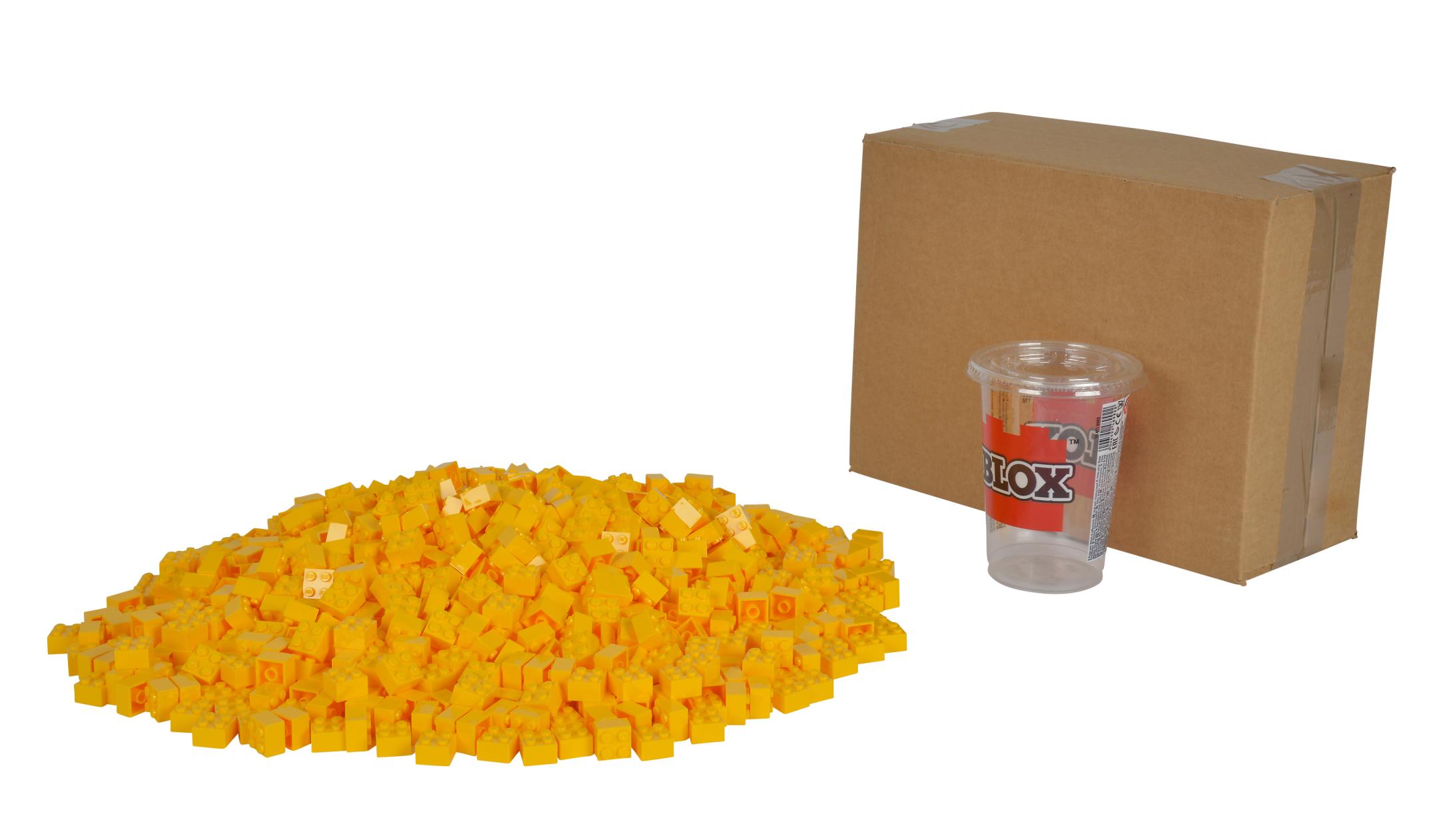Blox 1000 gelbe 4er Steine