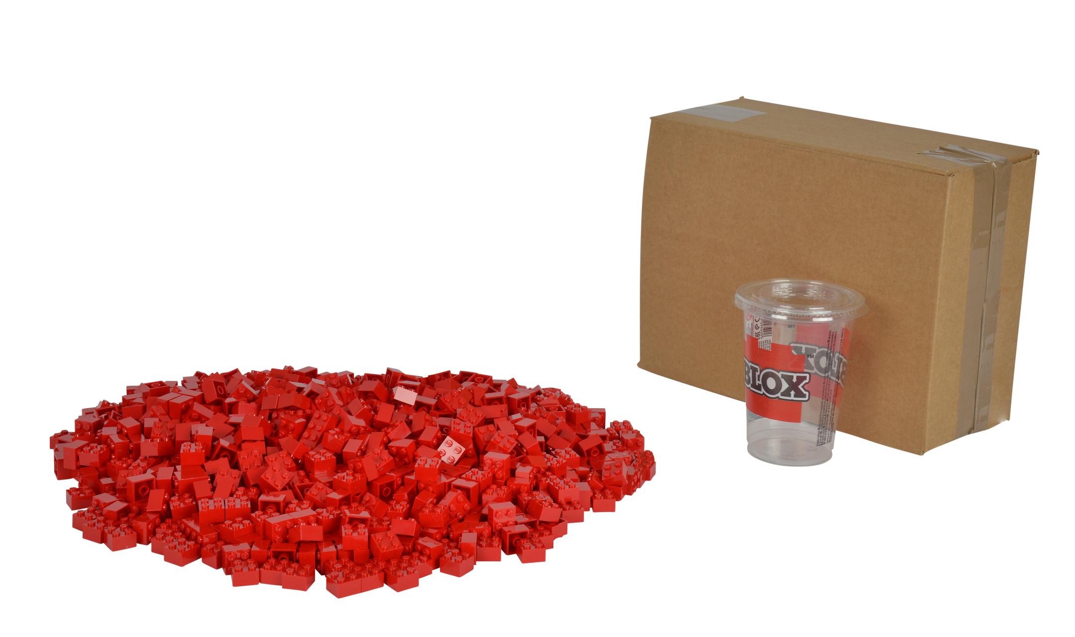 Blox 1000 rote 4er Steine