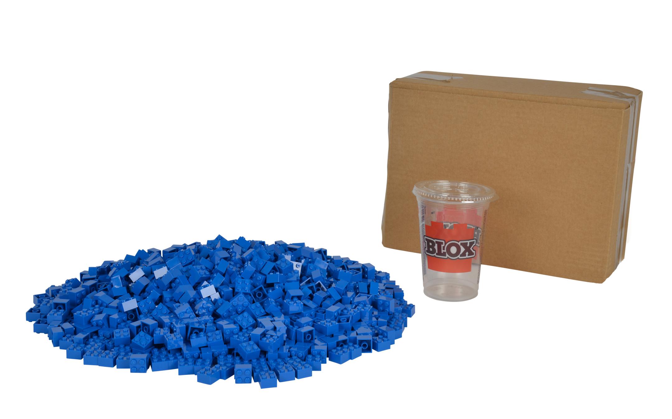 Blox 1000 blaue 4er Steine