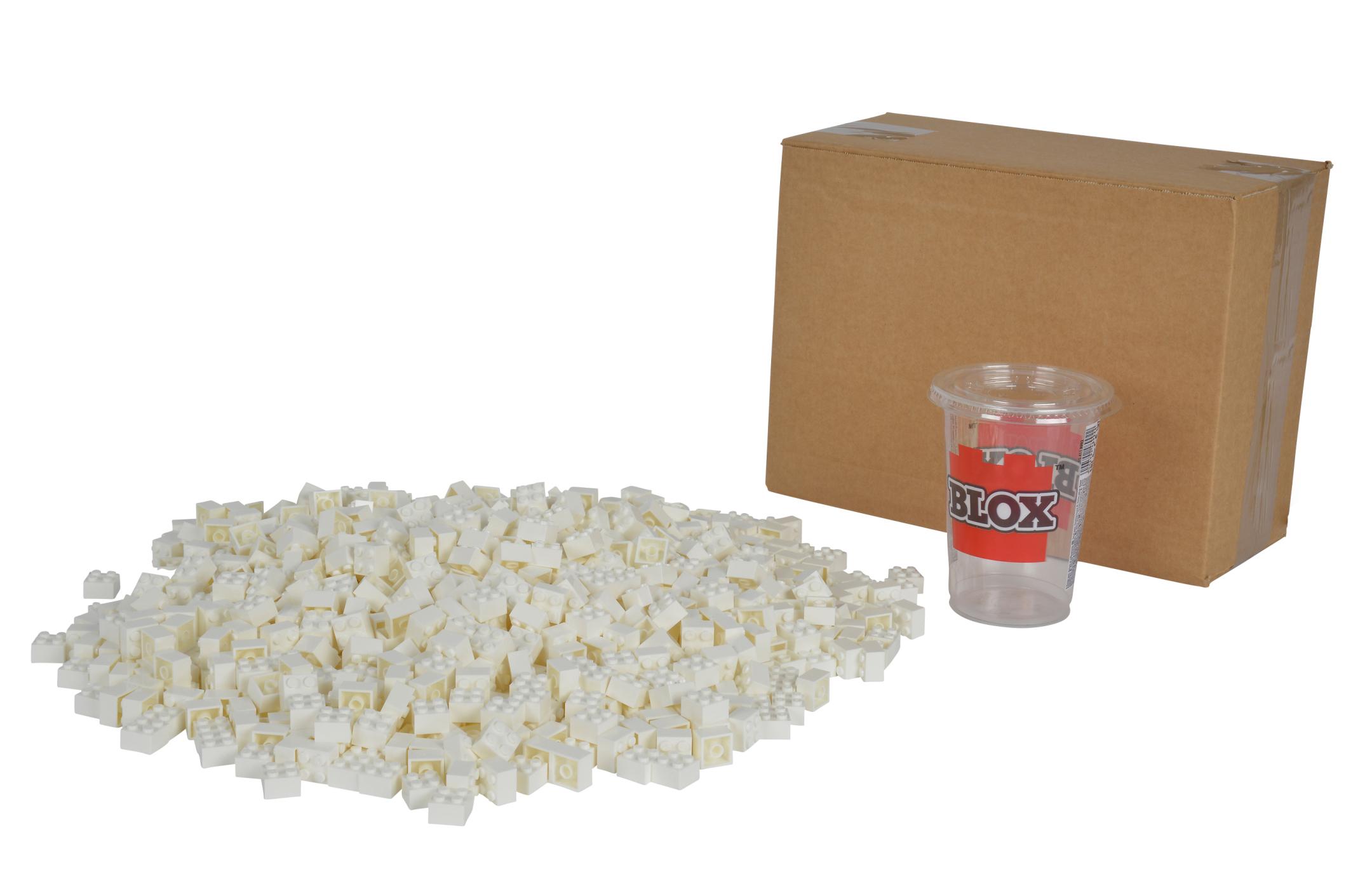 Blox 1000 weiße 4er Steine