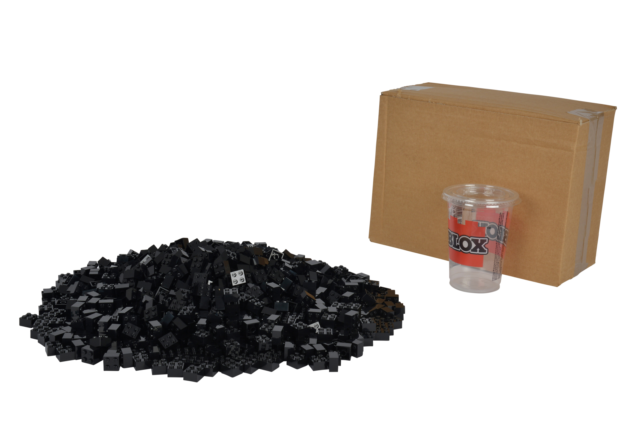 Blox 1000 schwarze 4er Steine