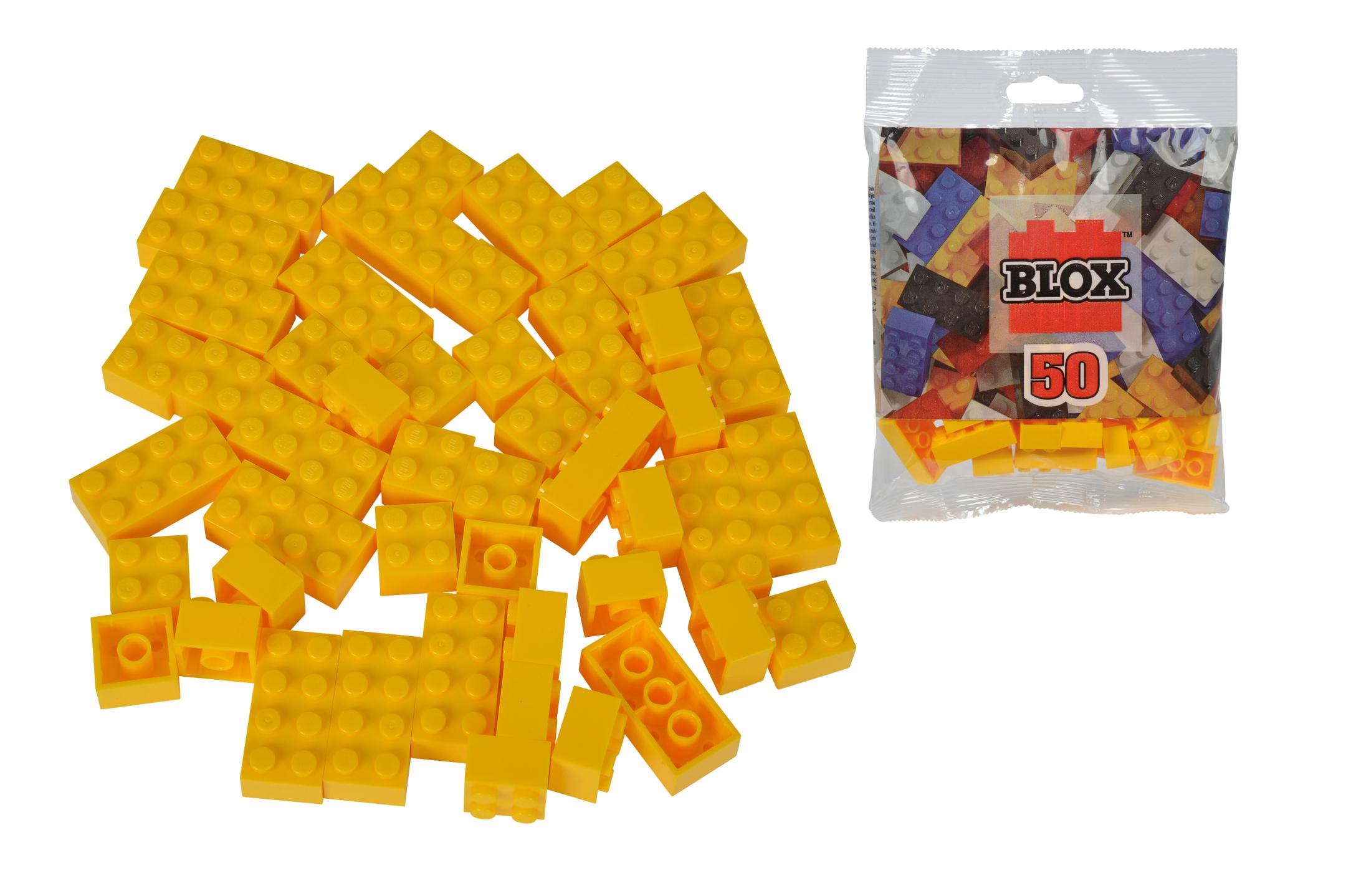 Blox 50 gelbe Steine Beutel