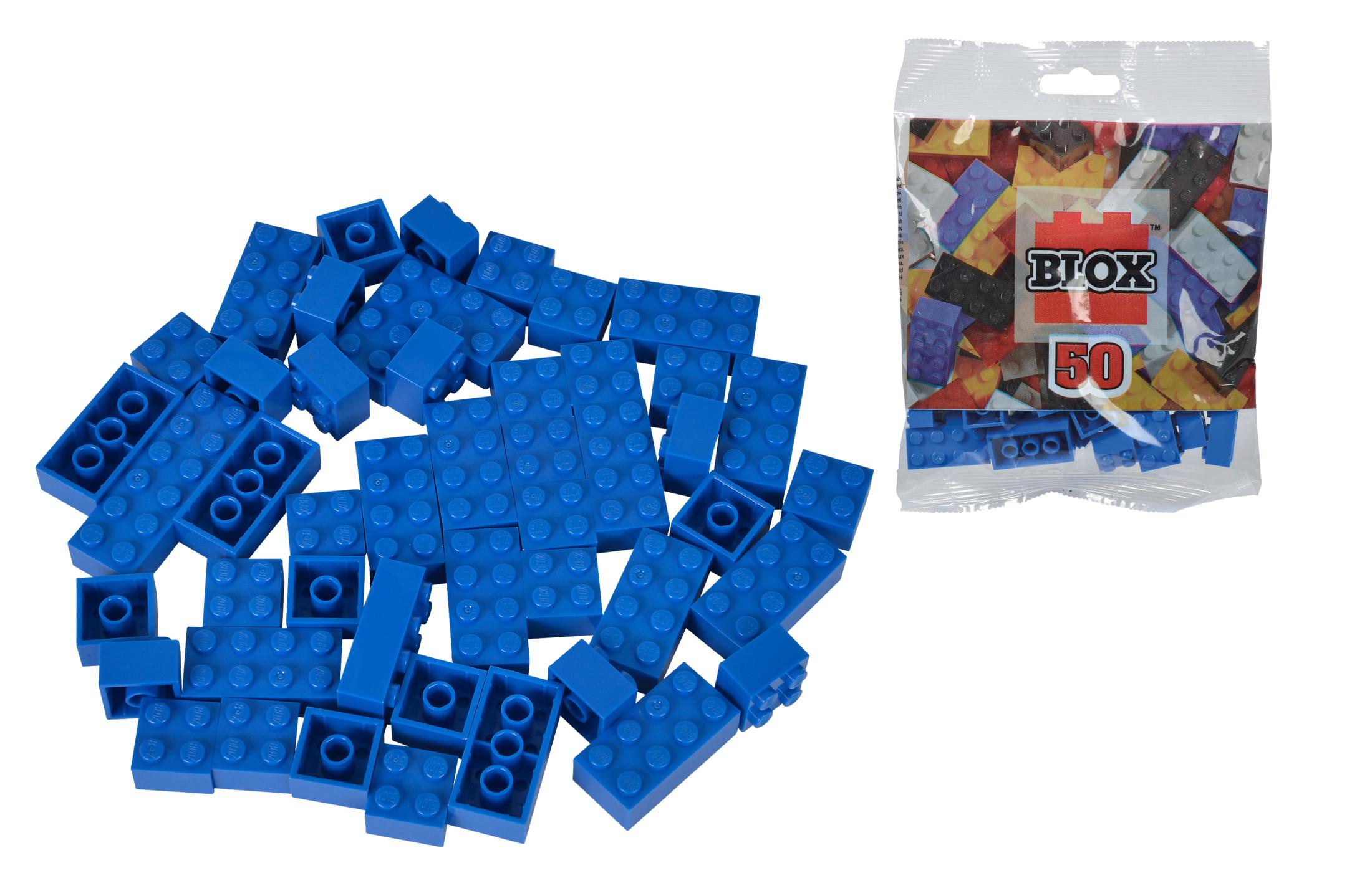 Blox 50 blaue Steine Beutel