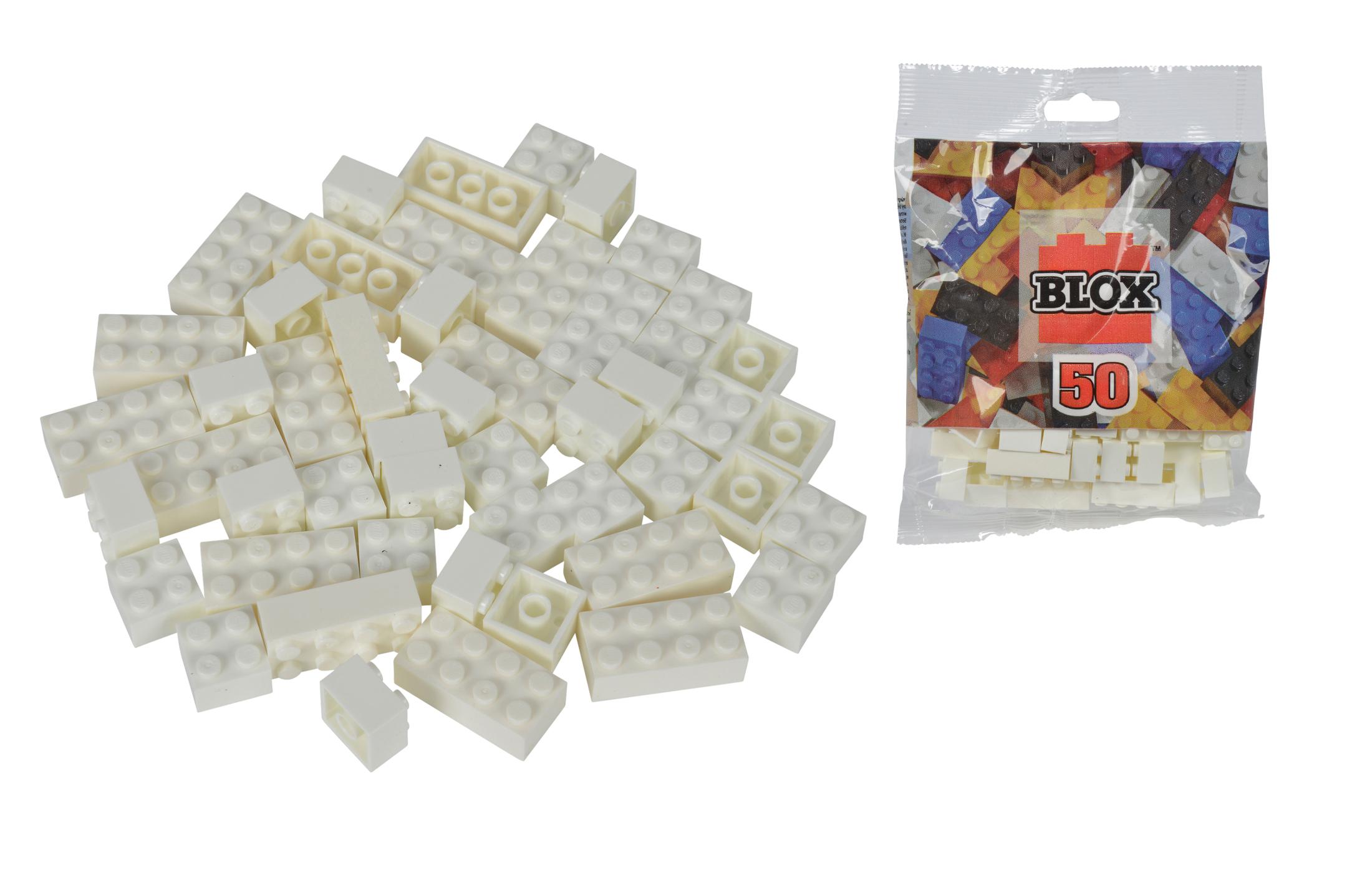 Blox 50 weiße Steine Beutel
