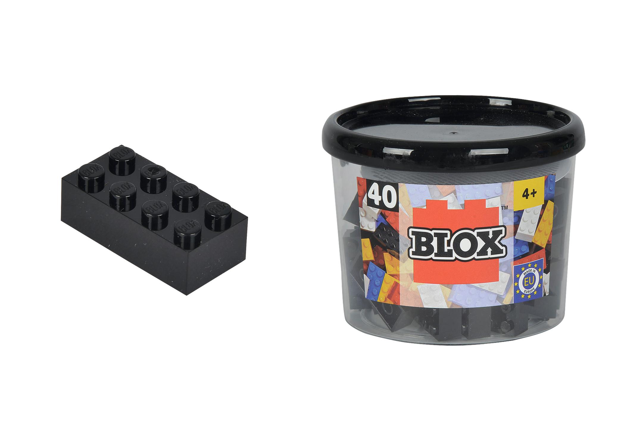 Blox 40 schwarze Steine in Dose