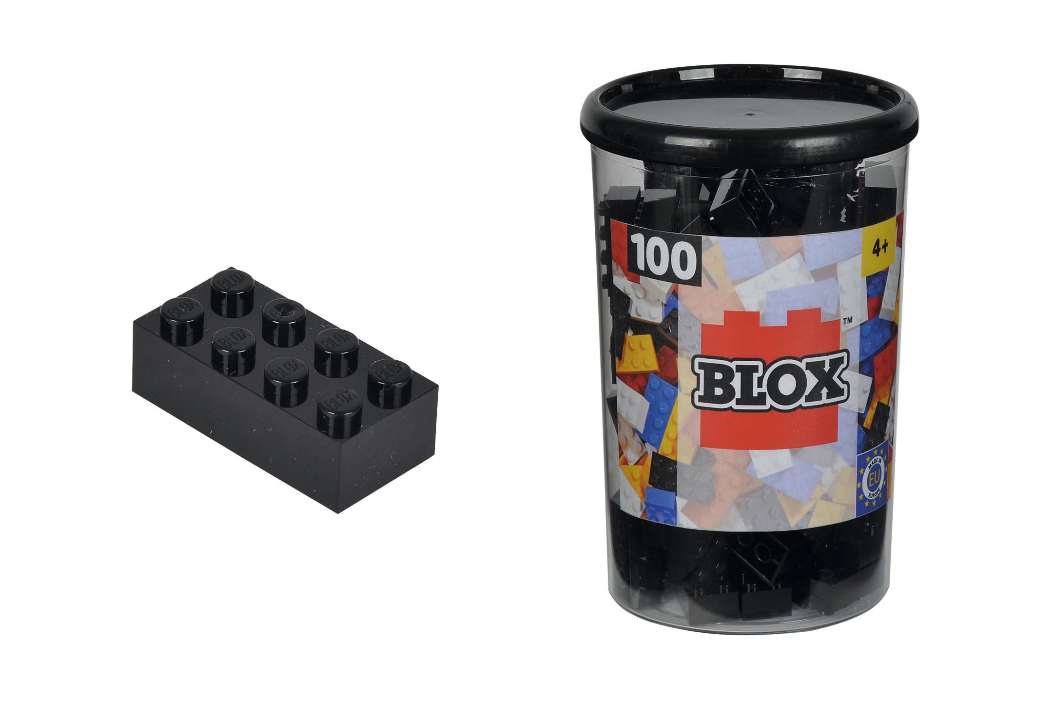 Blox 100 schwarze Steine in Dose