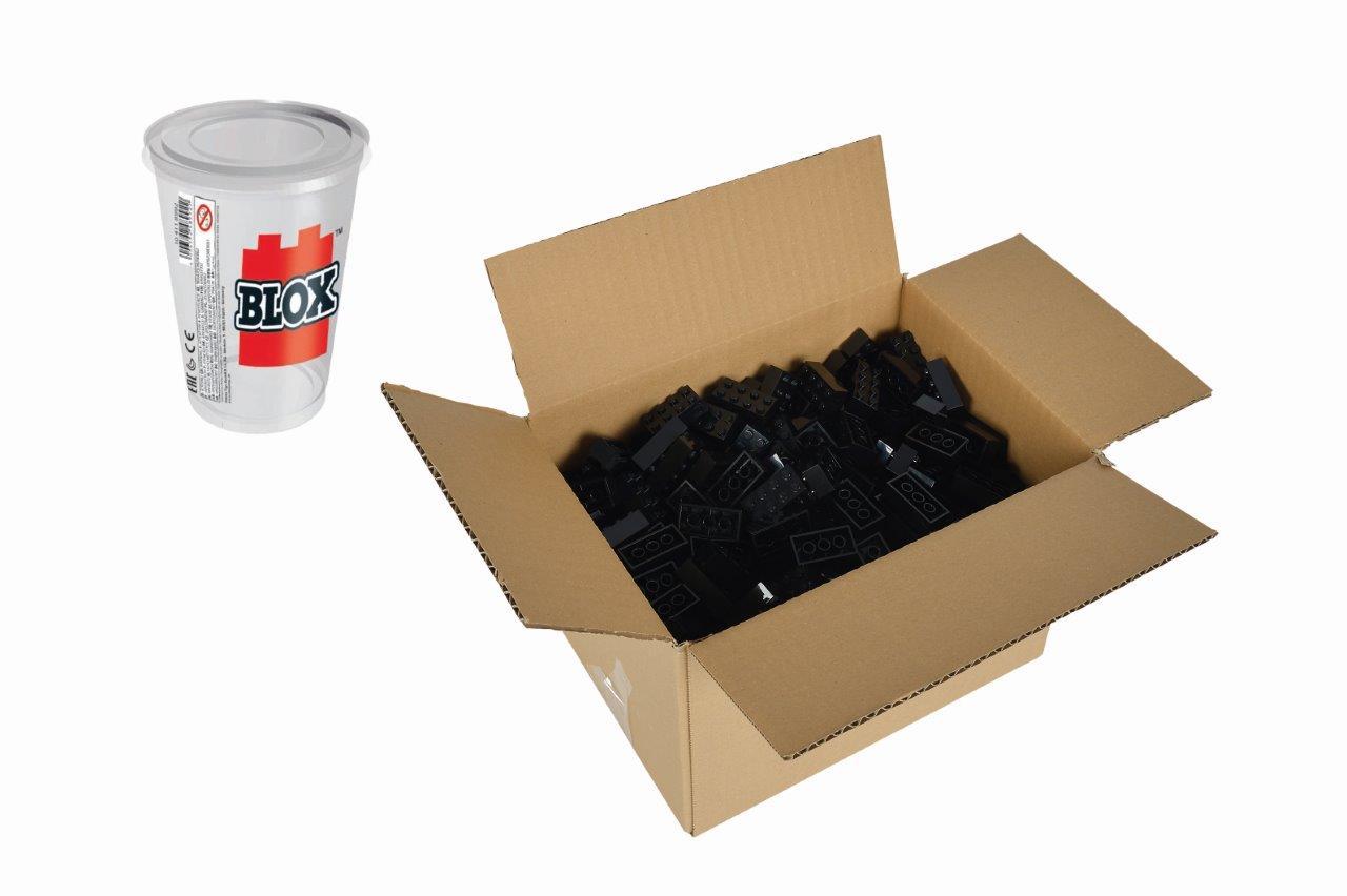 Blox 500 schwarze 8er Steine Karton