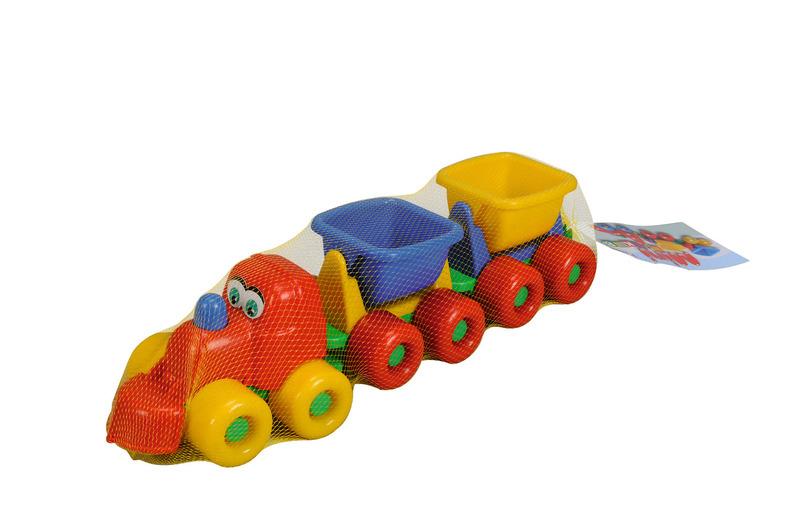 Sommer Sand Eisenbahn