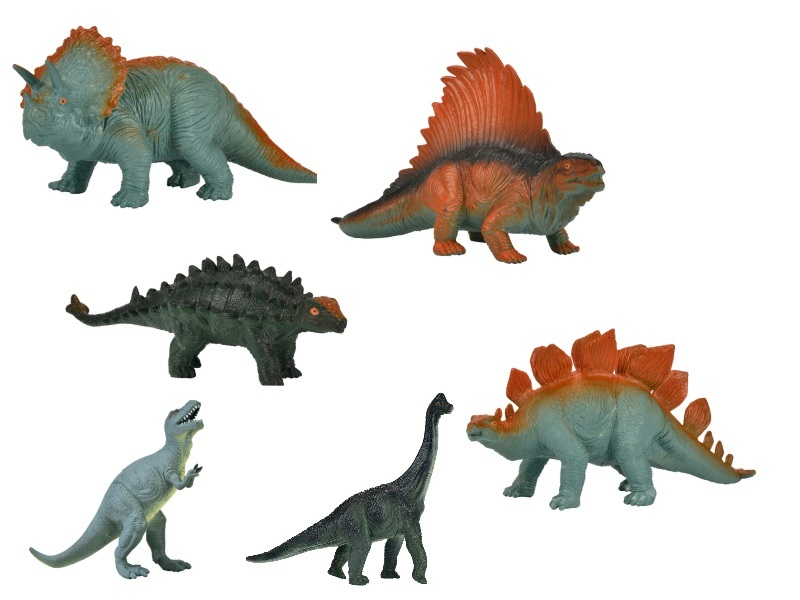 Nature World Dinosaurier 16-21cm 6fs
