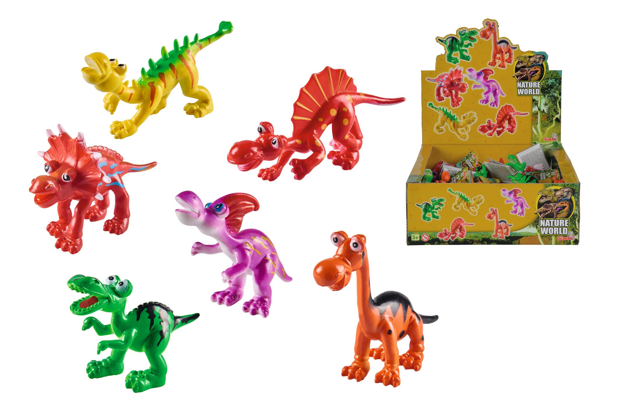 Display Dino Cartoon 6fs