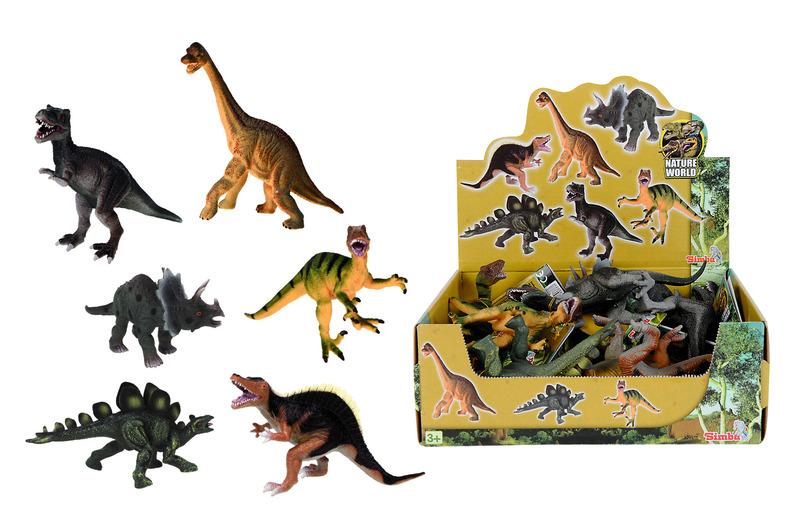 Display Dinosaurier 14-16cm 6fs