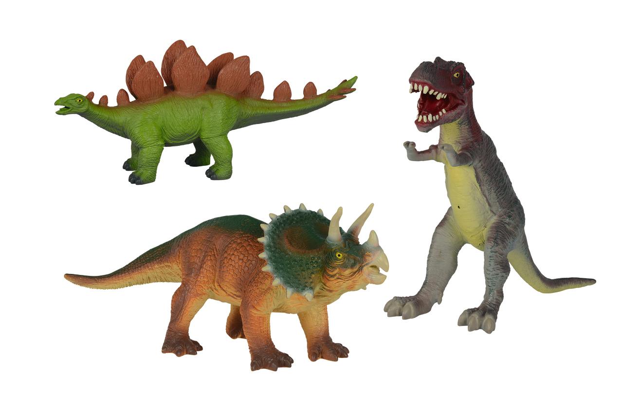 Softdinosaurier 40cm 3fs
