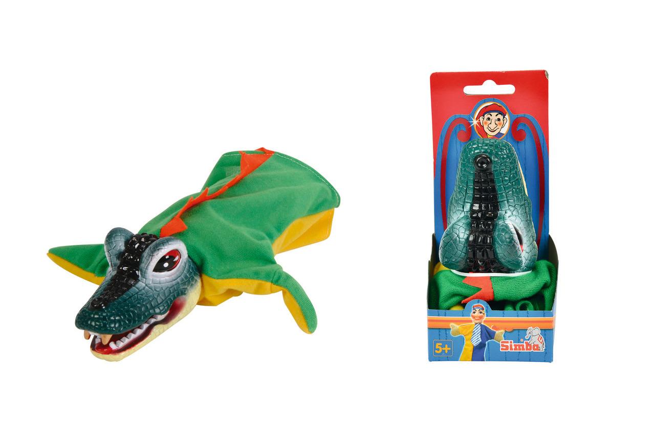 Handspielpuppe - Krokodil