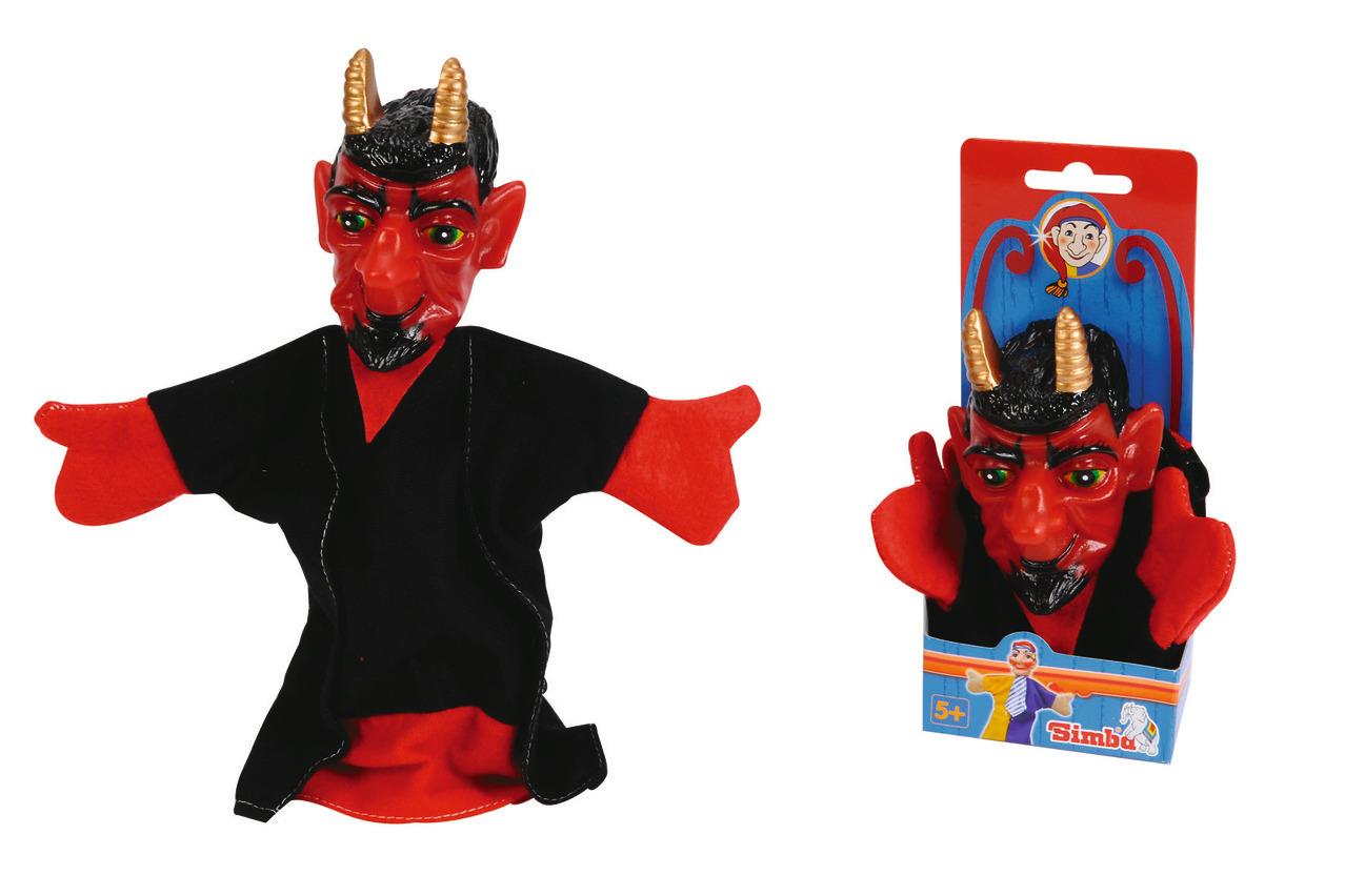 Handspielpuppe - Teufel