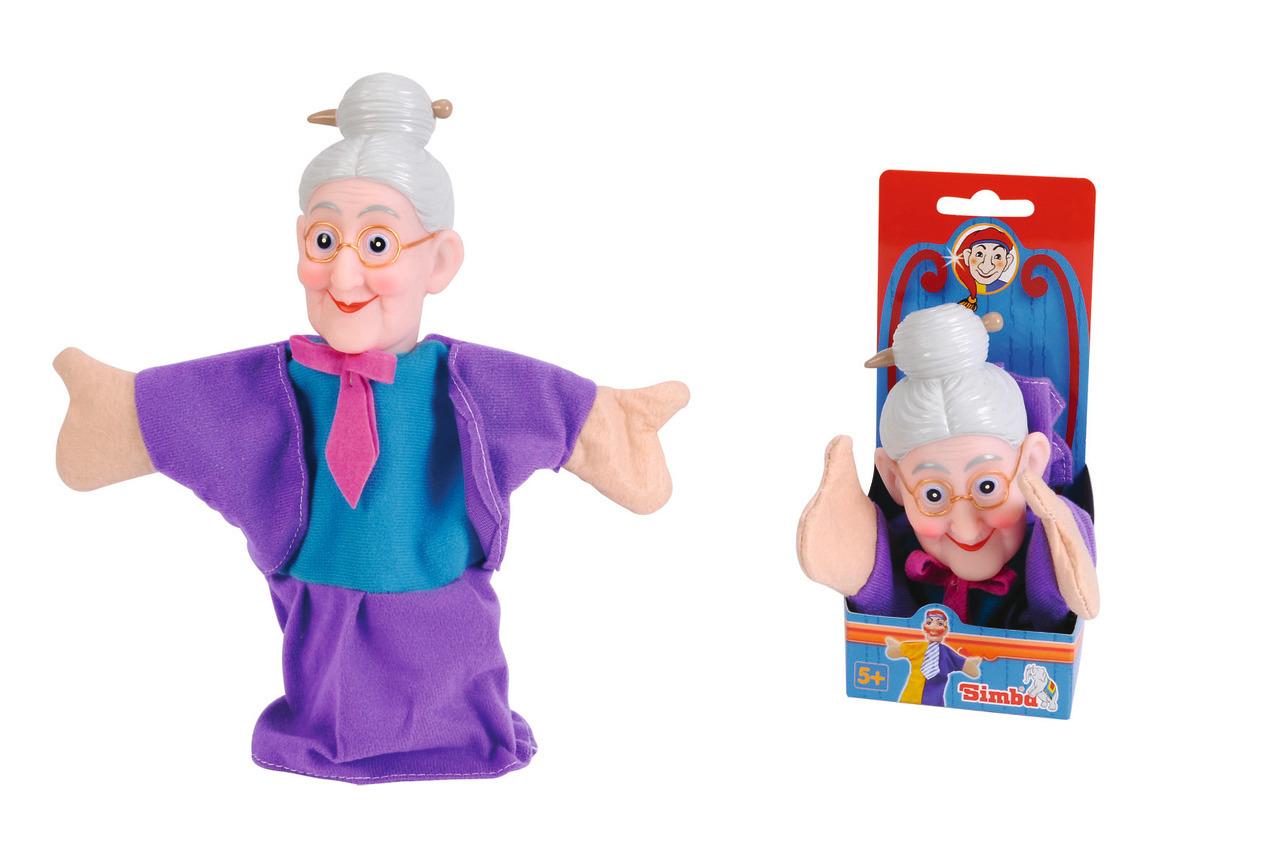 Handspielpuppe - Oma
