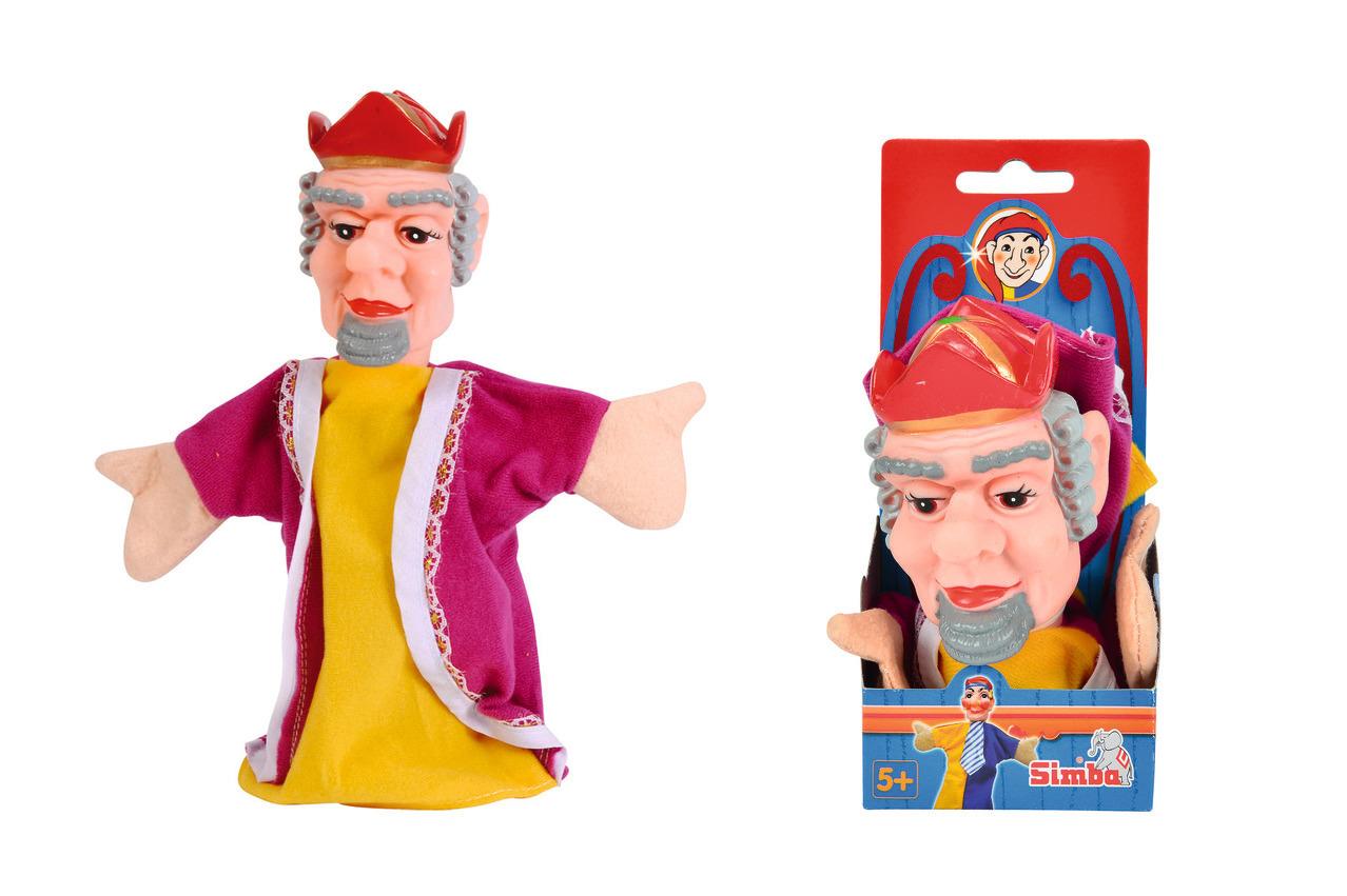 Handspielpuppe - König