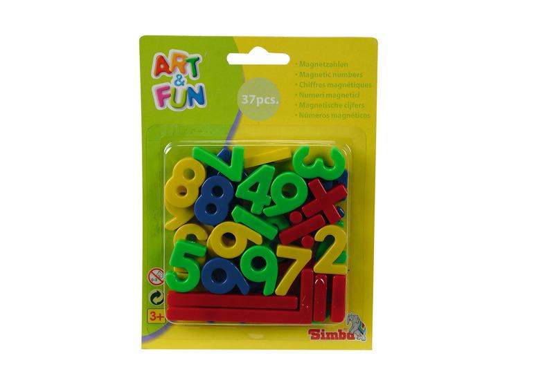 A&F Magnet Zahlen und Zeichen