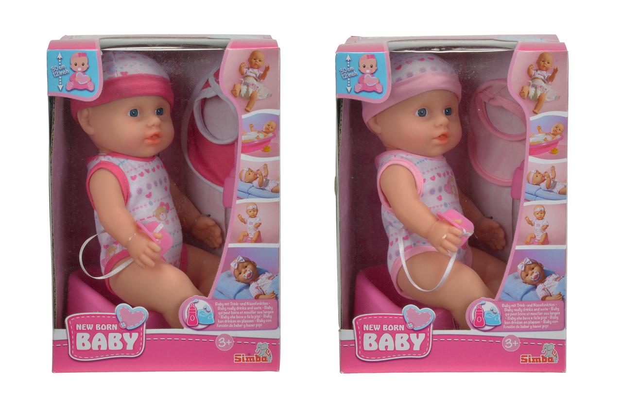 New Born Baby Vinylpuppe 30cm